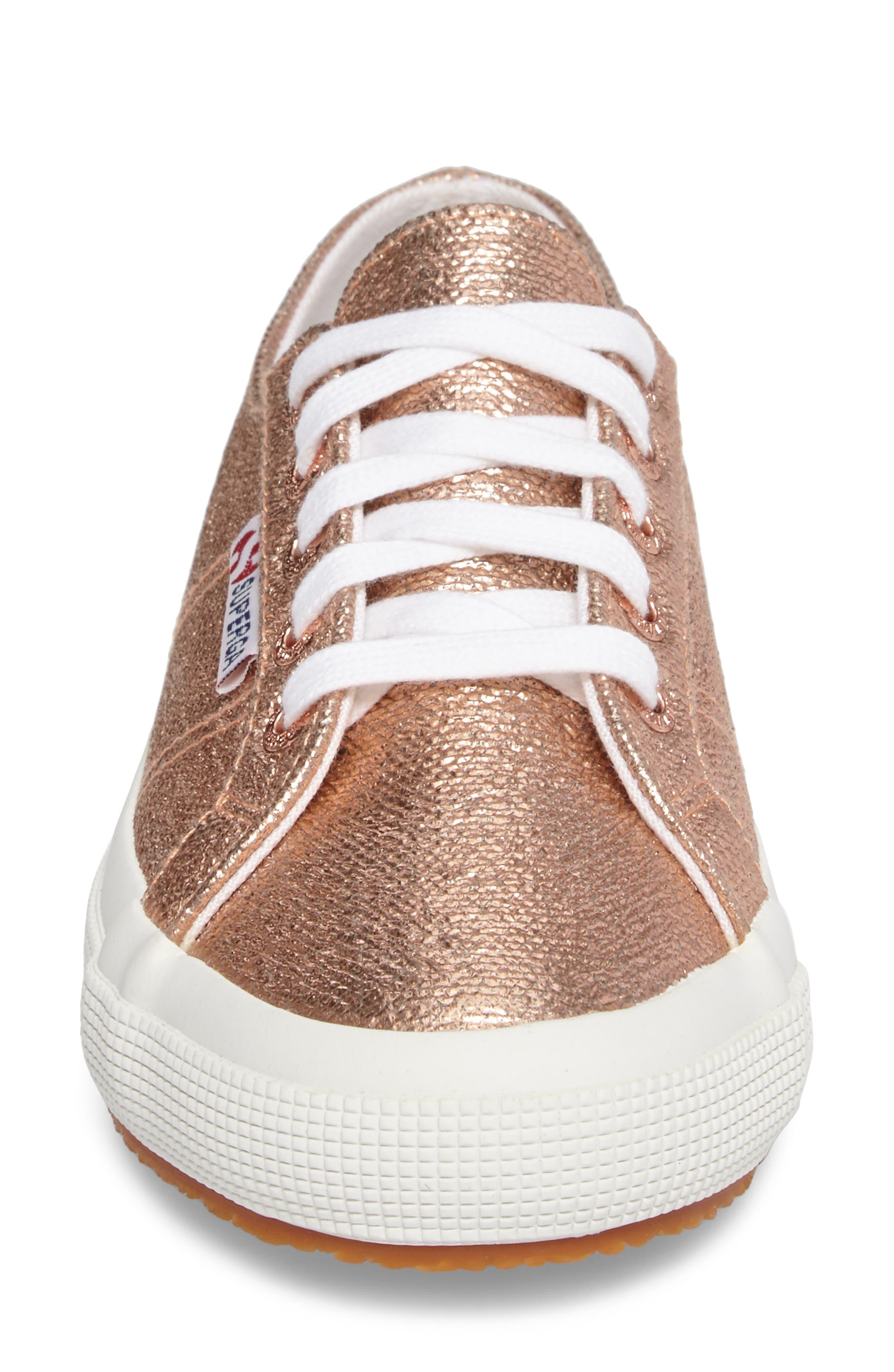 Alternate Image 4  - Superga 2750 Metallic Sneaker (Women)