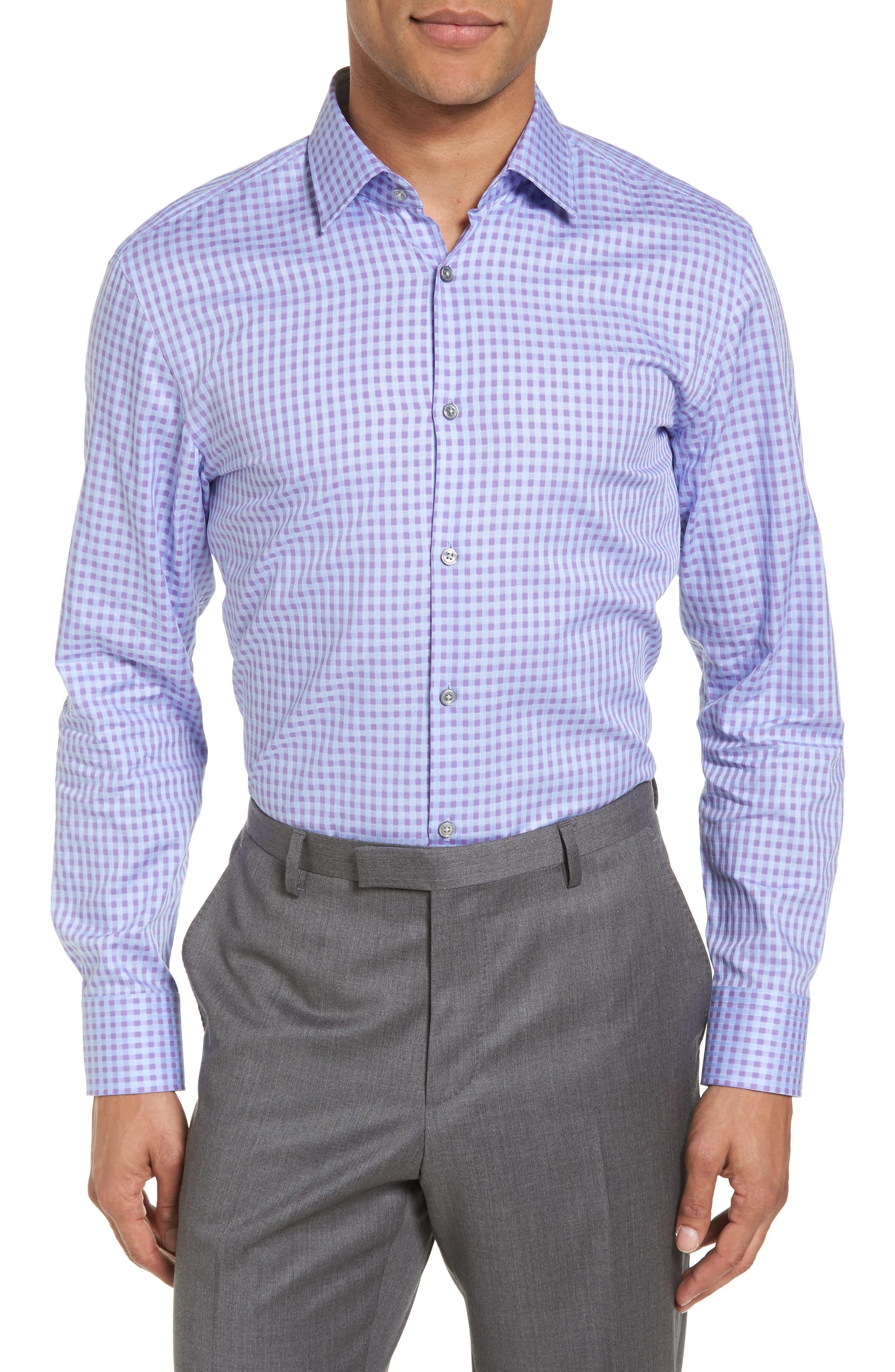 Alternate Image 2  - BOSS Sharp Fit Check Dress Shirt