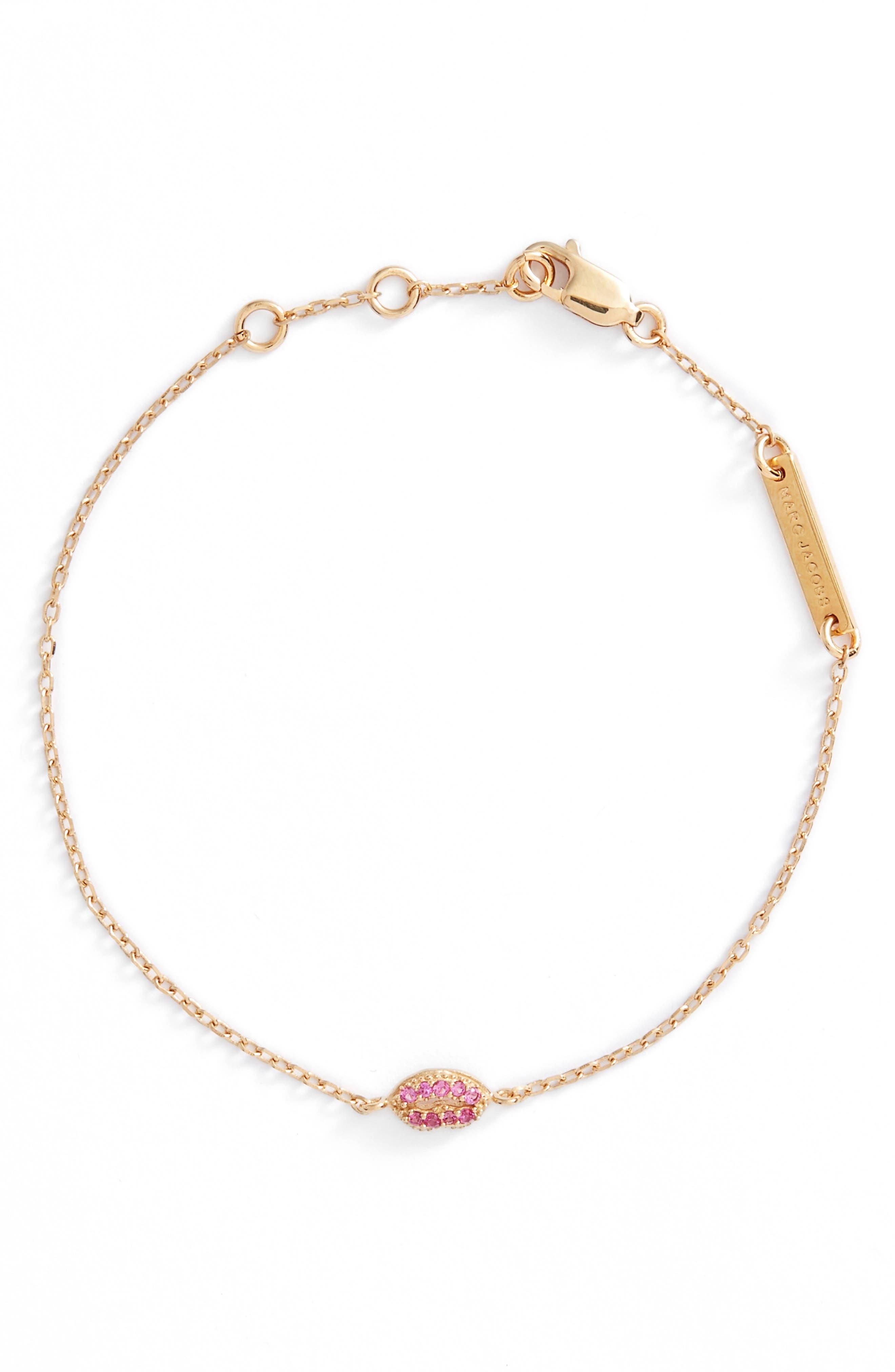 MARC JACOBS Lips Line Bracelet