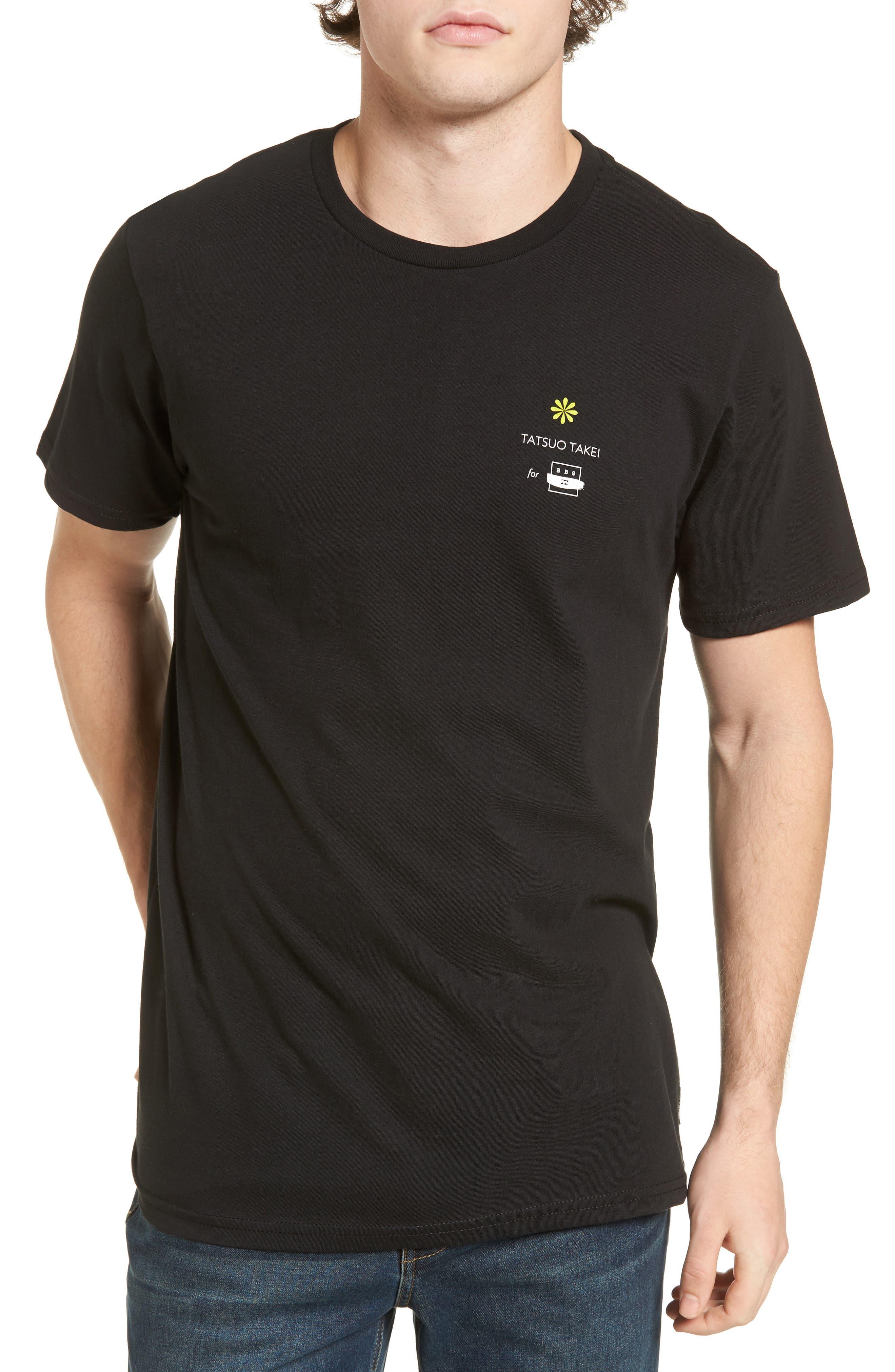 Offshore T-Shirt,                         Main,                         color, Black