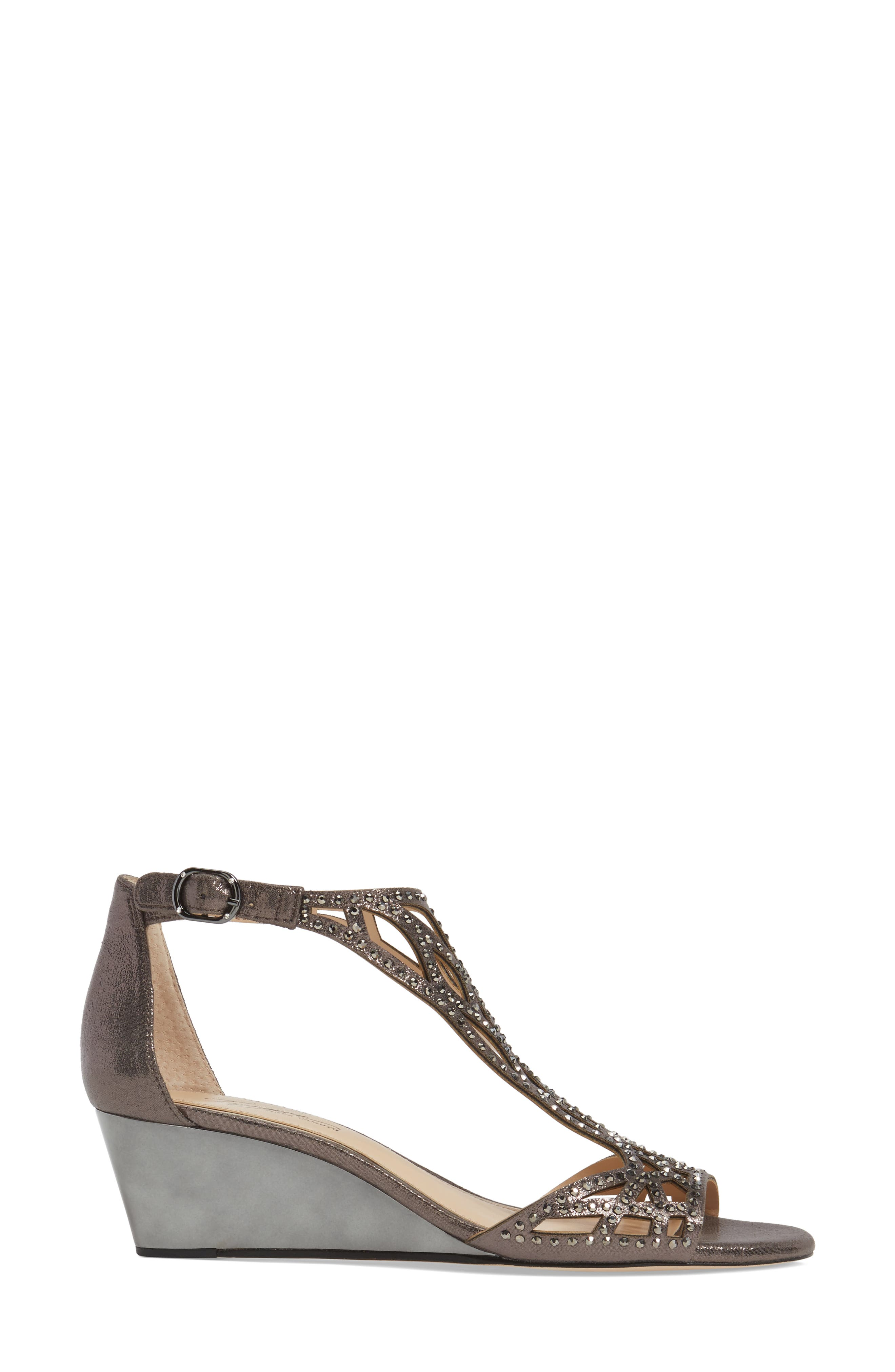 Alternate Image 3  - Imagine by Vince Camuto 'Jalen' Wedge Sandal (Women)