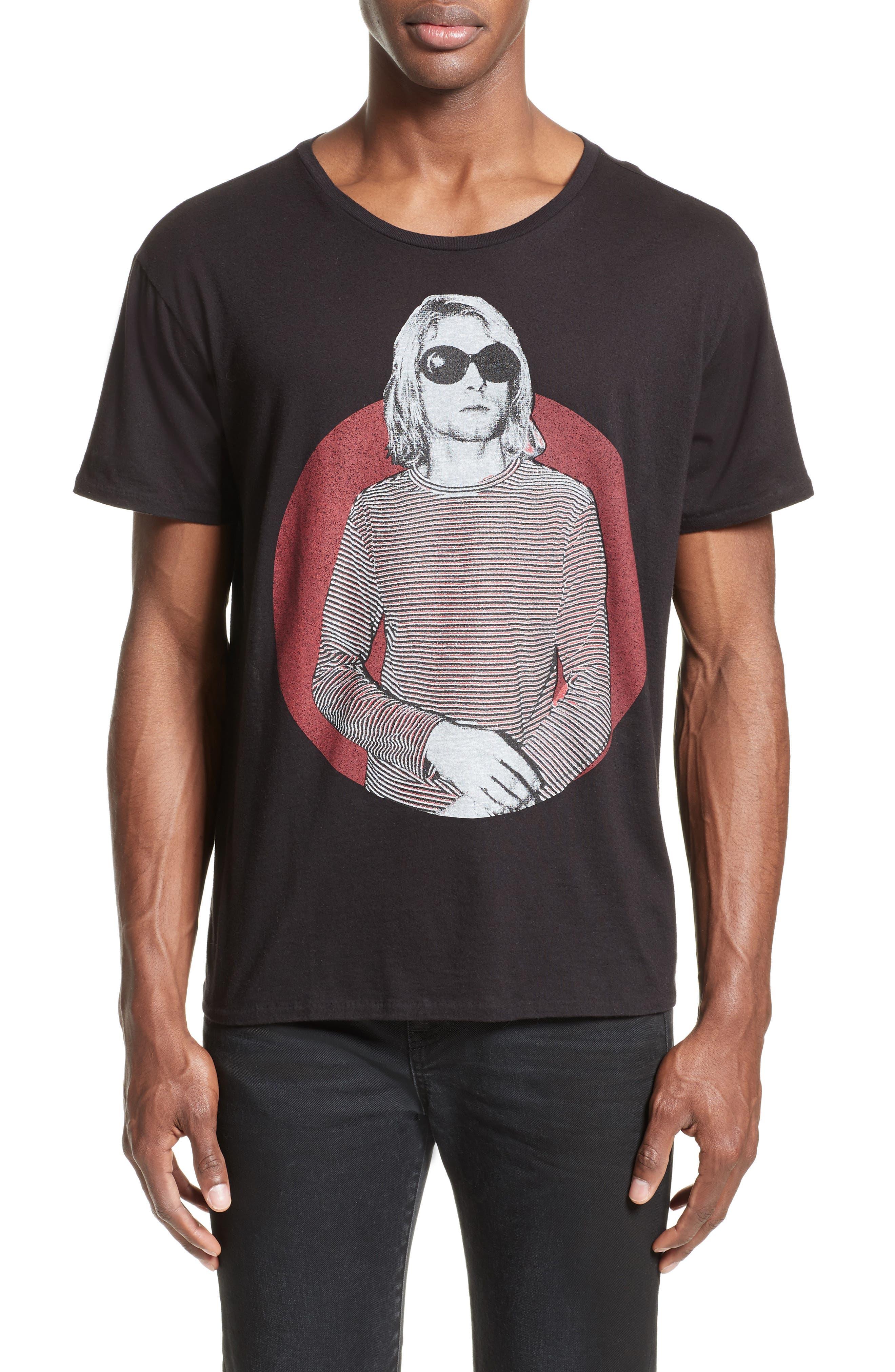 Kurt Graphic T-Shirt,                         Main,                         color, Black