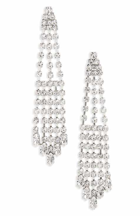 Nina Cascade Chandelier Earrings