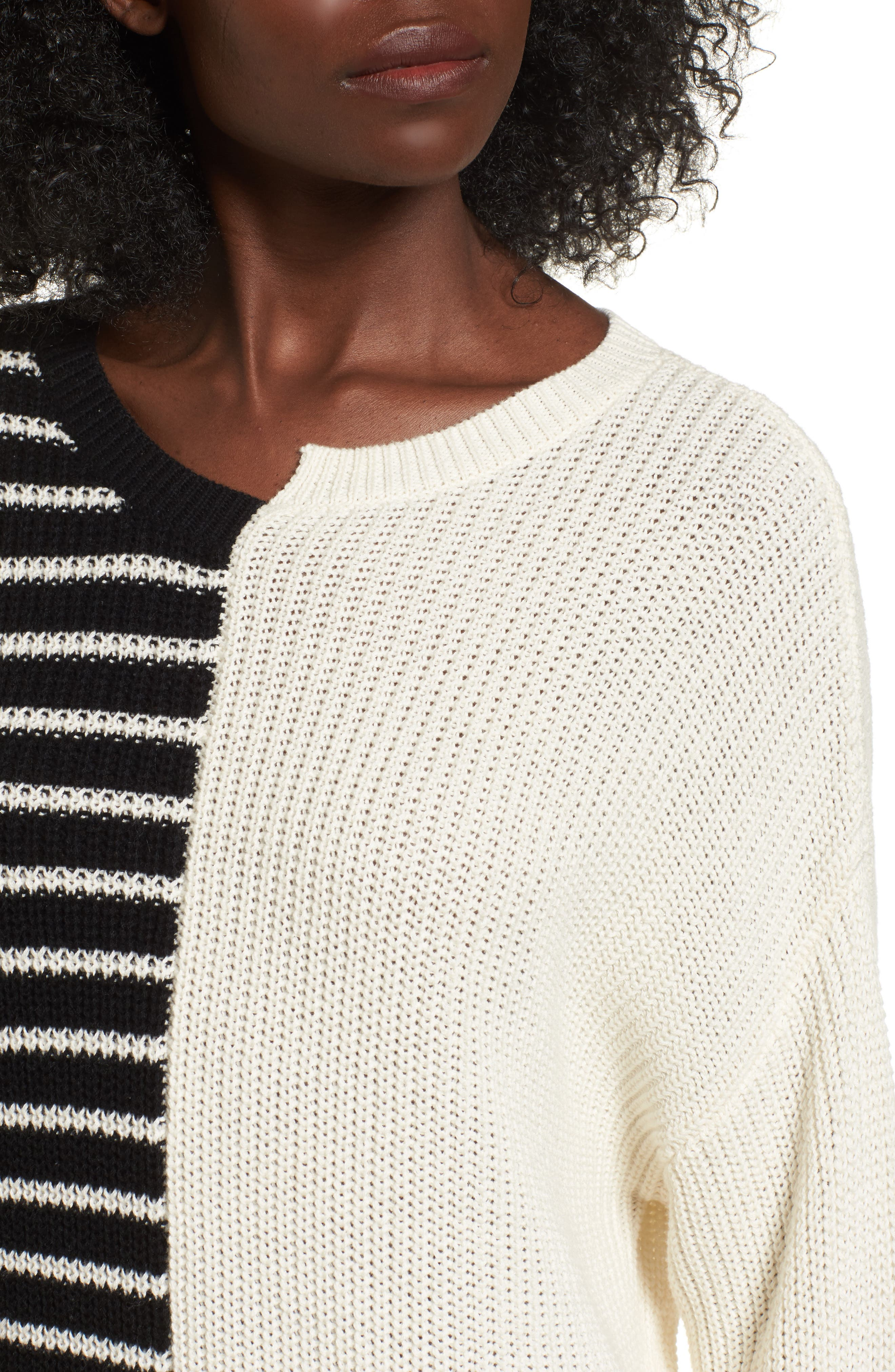 Alternate Image 4  - BP. Colorblock Cotton Sweater