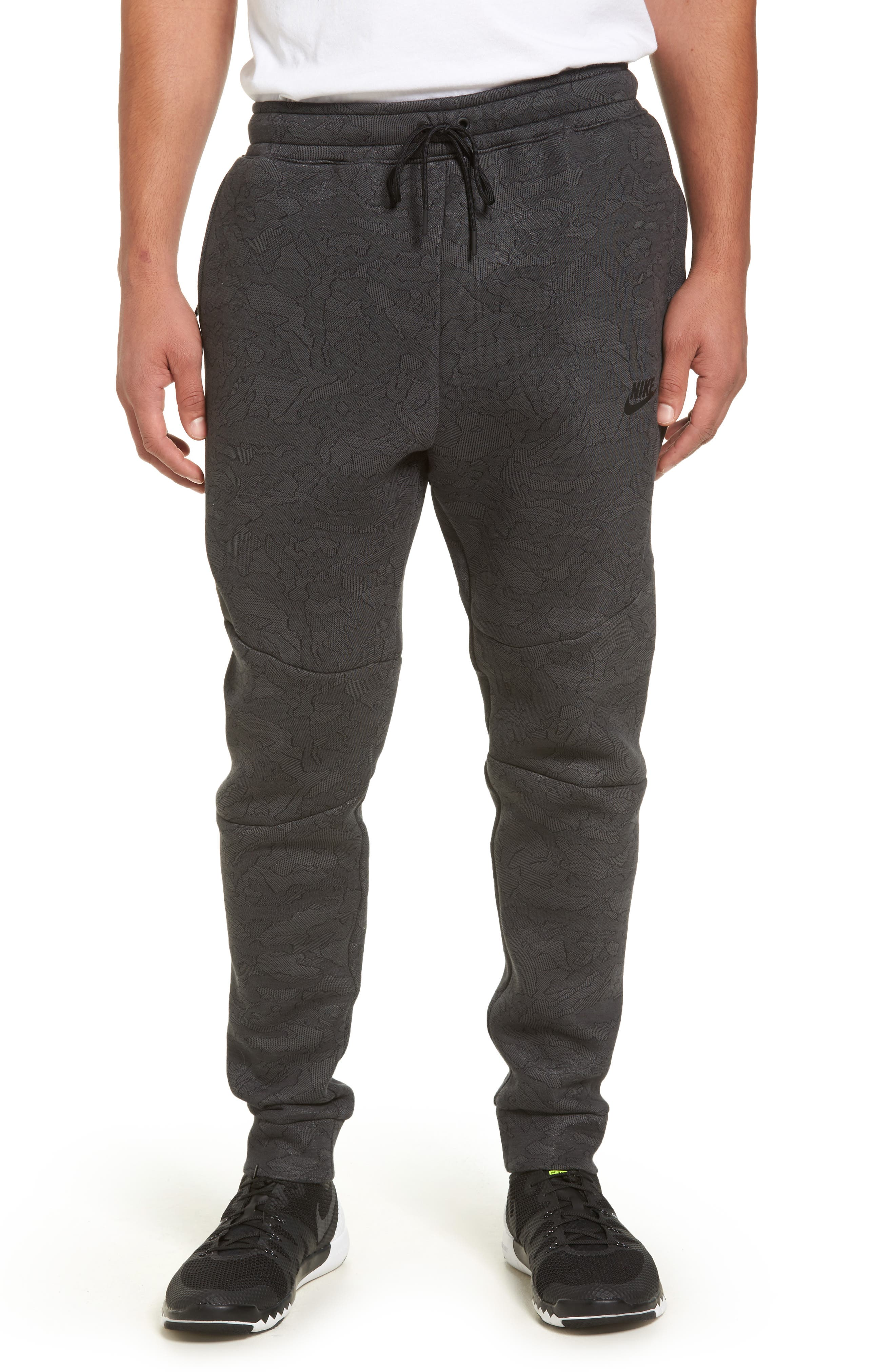 Tech Fleece Pants,                         Main,                         color, Midnight Fog/ Black