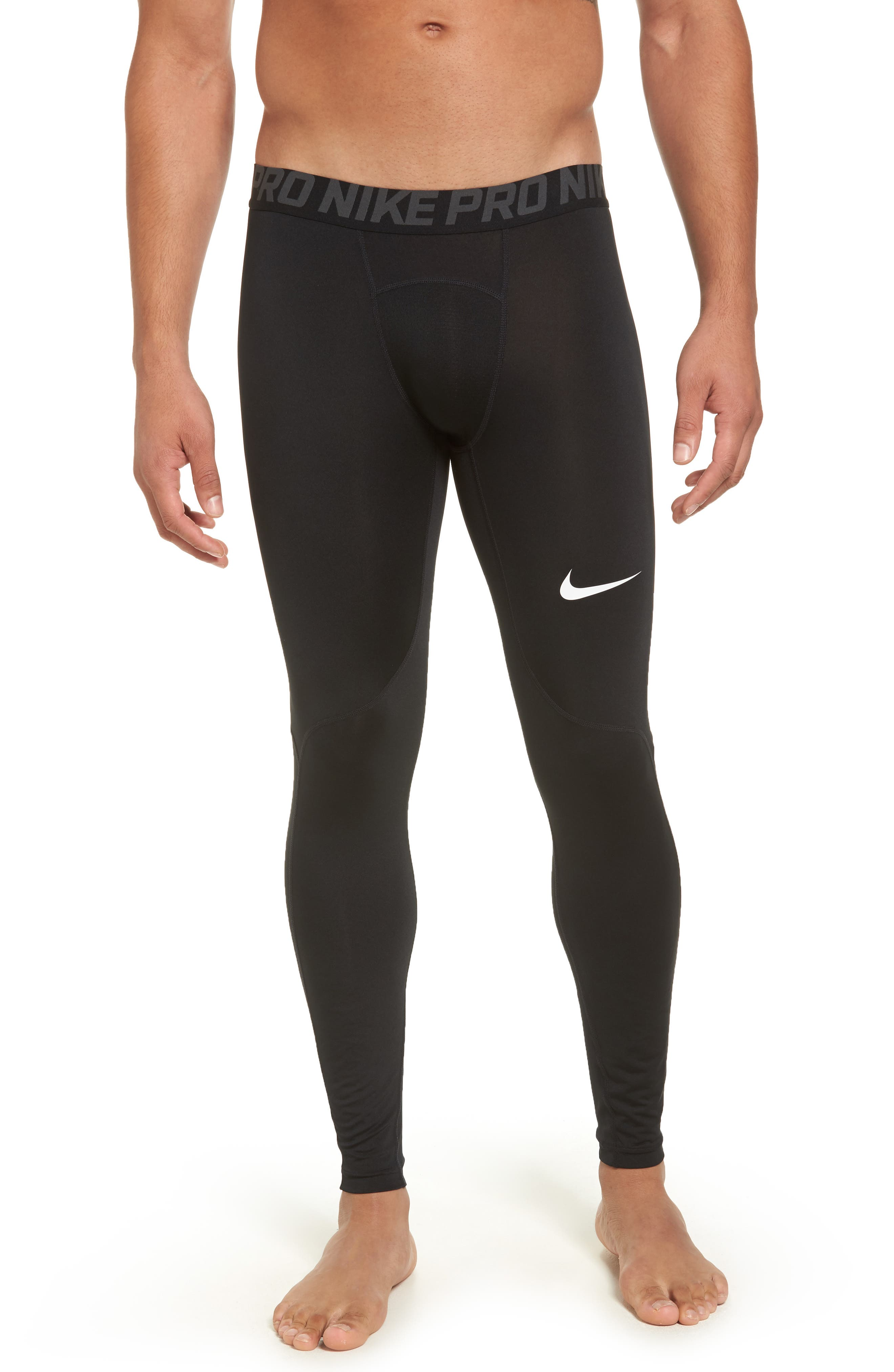 Alternate Image 1 Selected - Nike Pro Three Quarter Training Tights