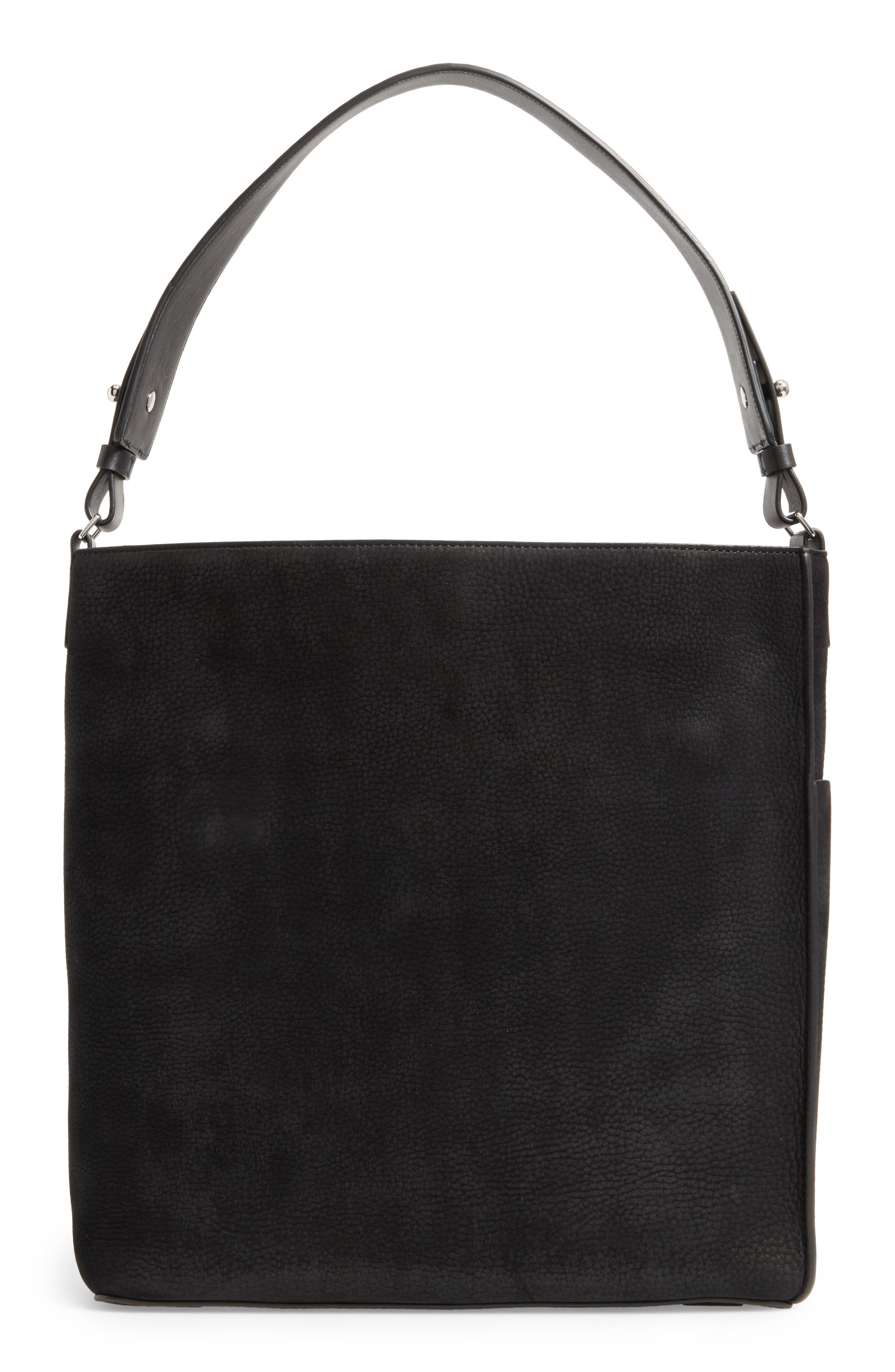 Alternate Image 2  - ALLSAINTS Echo North/South Calfskin Tote