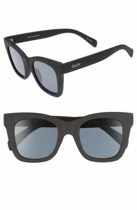 3f41cd455d2 Quay Australia After Hours 50mm Square Sunglasses