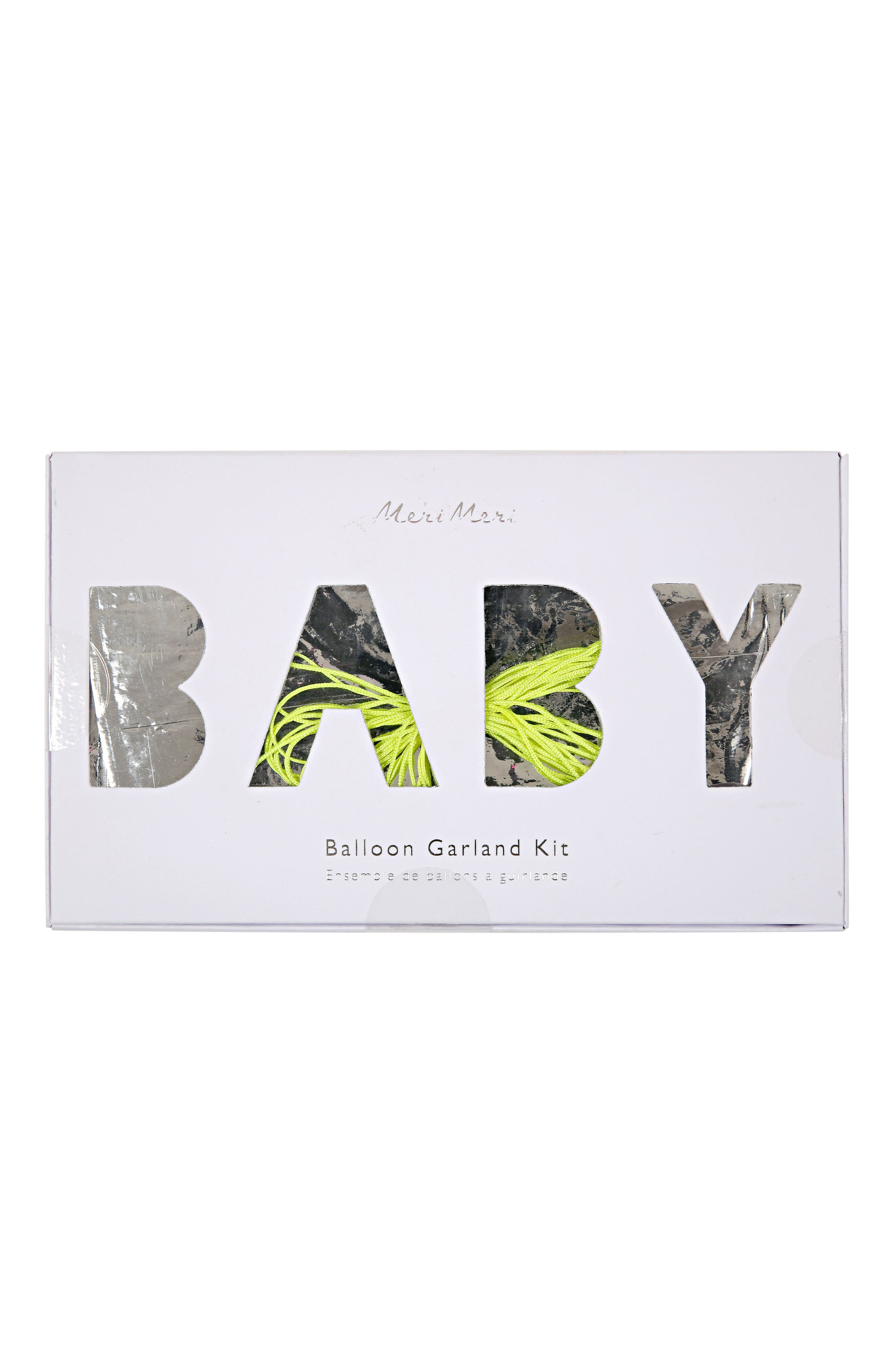 Baby Shower Party Kit,                             Alternate thumbnail 5, color,                             Green
