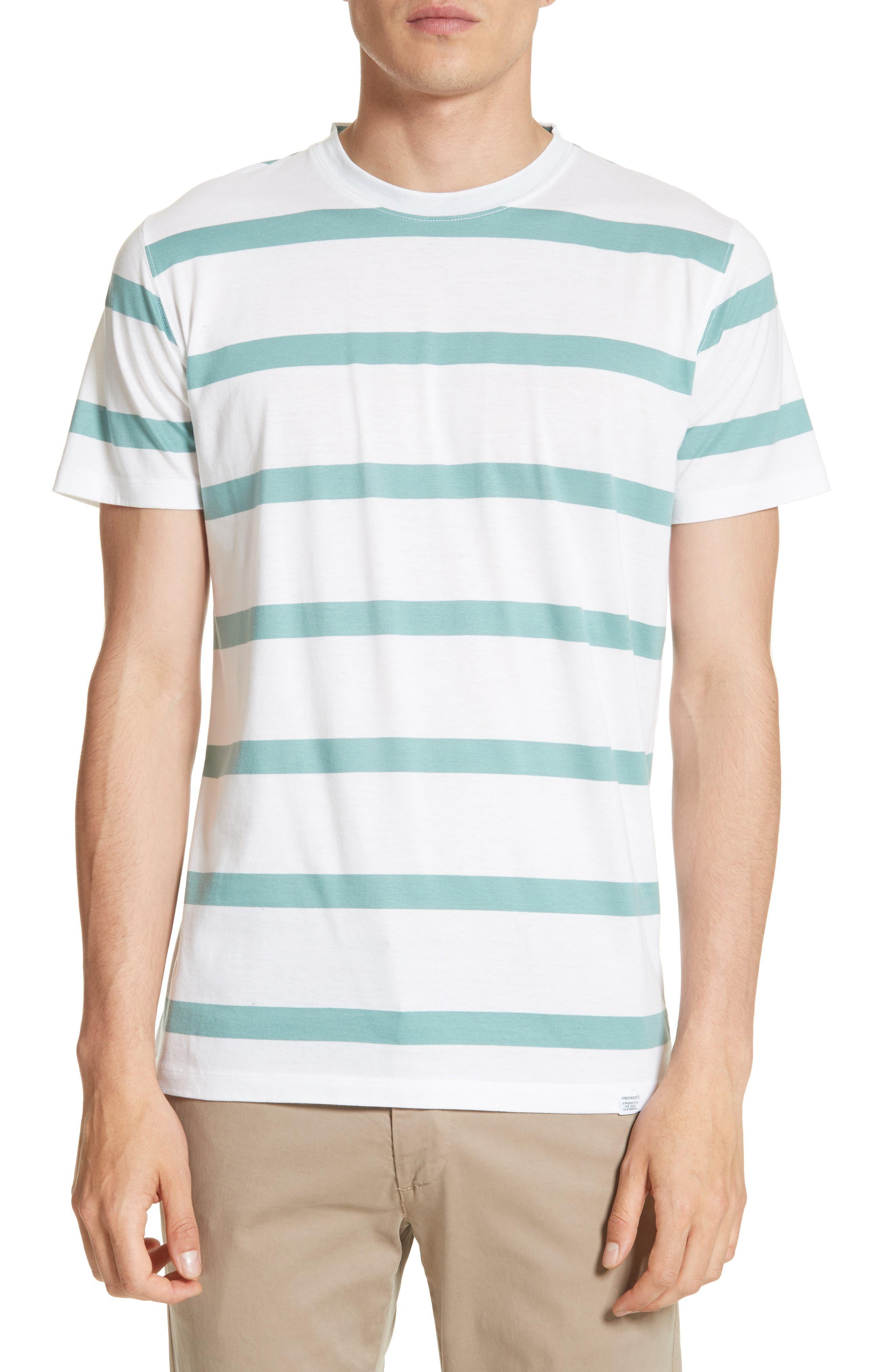 Neils Industrial Stripe T-Shirt,                         Main,                         color, White
