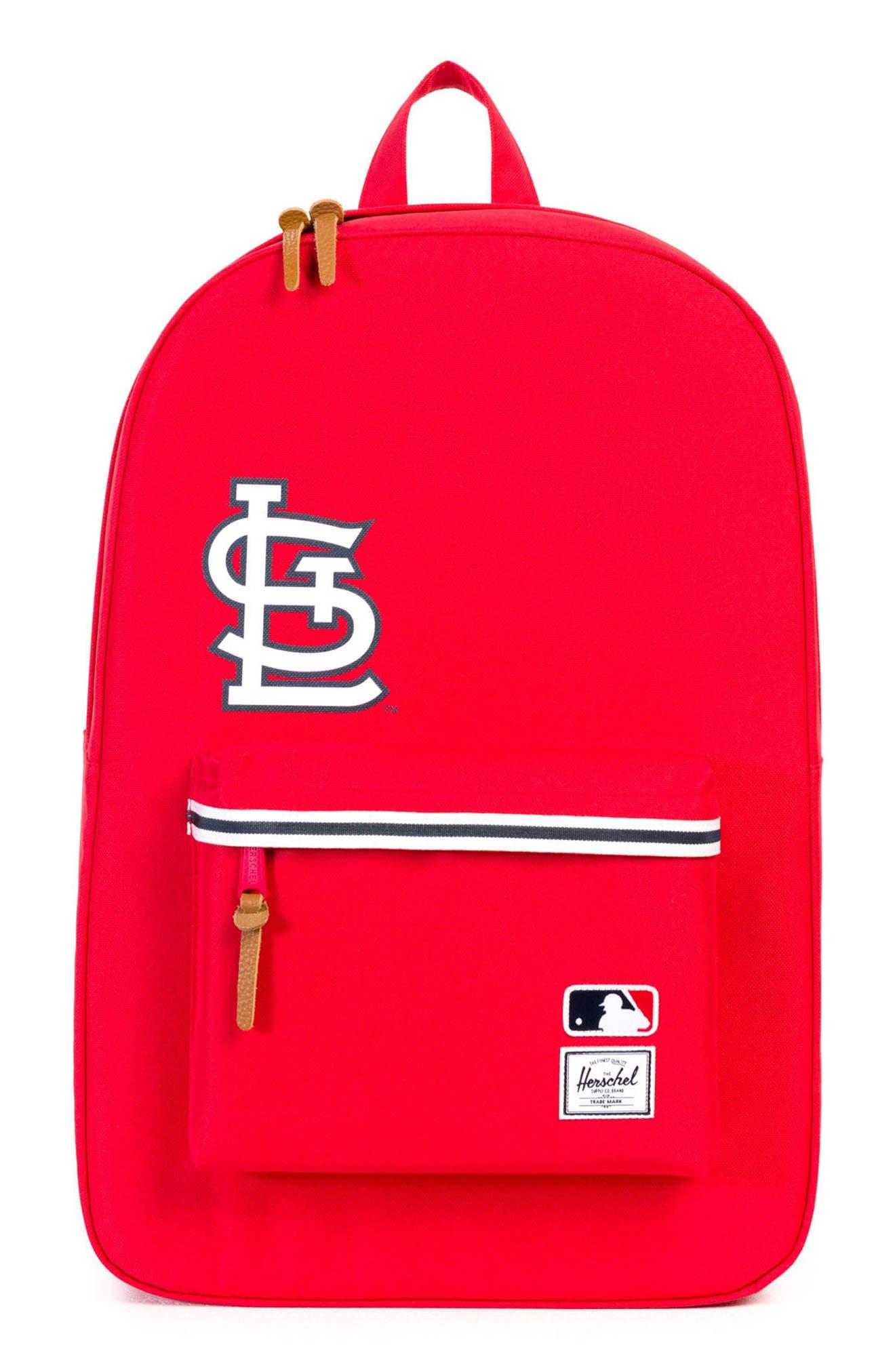 Heritage St. Louis Cardinals Backpack,                         Main,                         color, St. Louis Cardinals