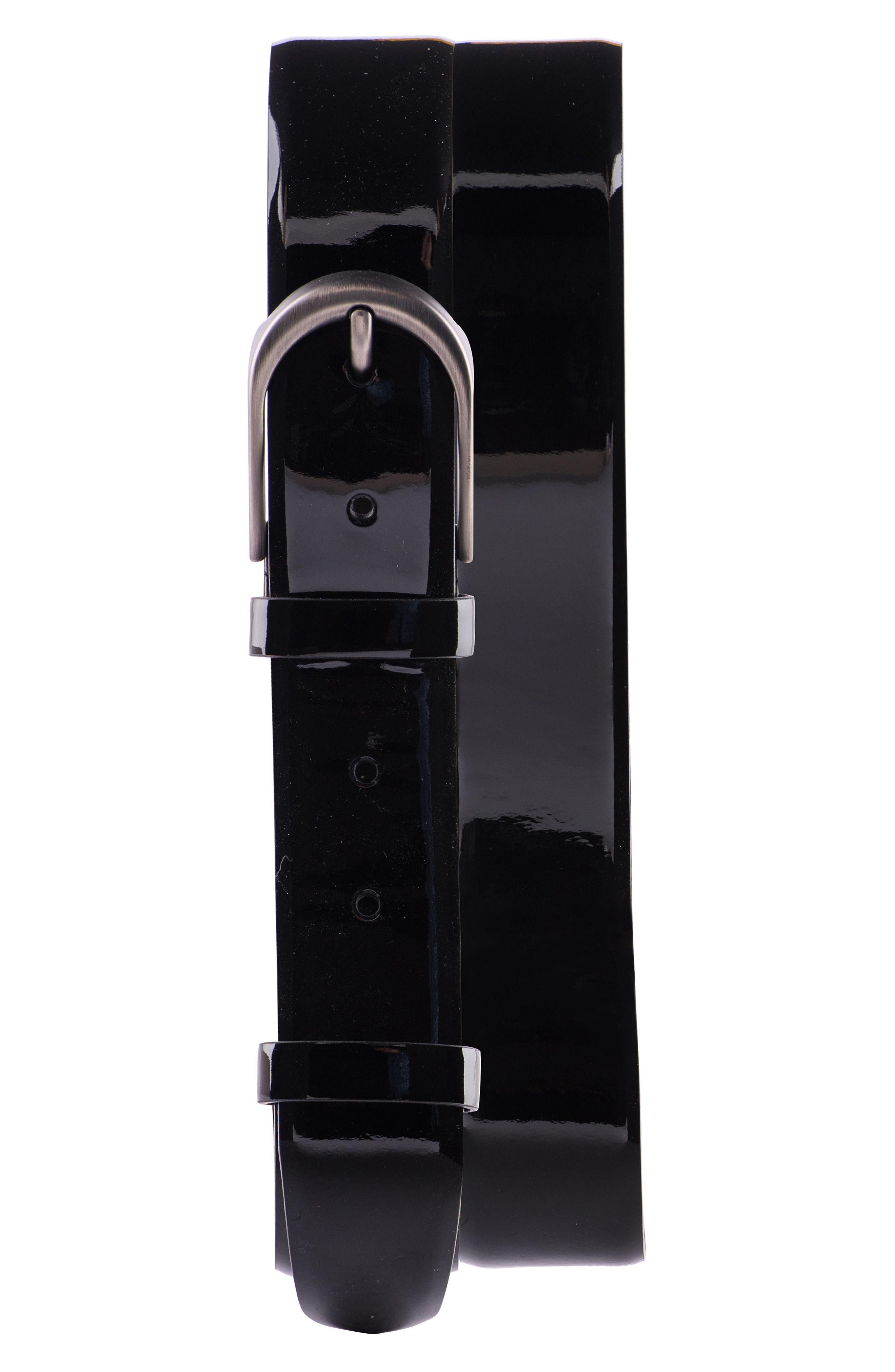 Jared Lang Solid Leather Belt