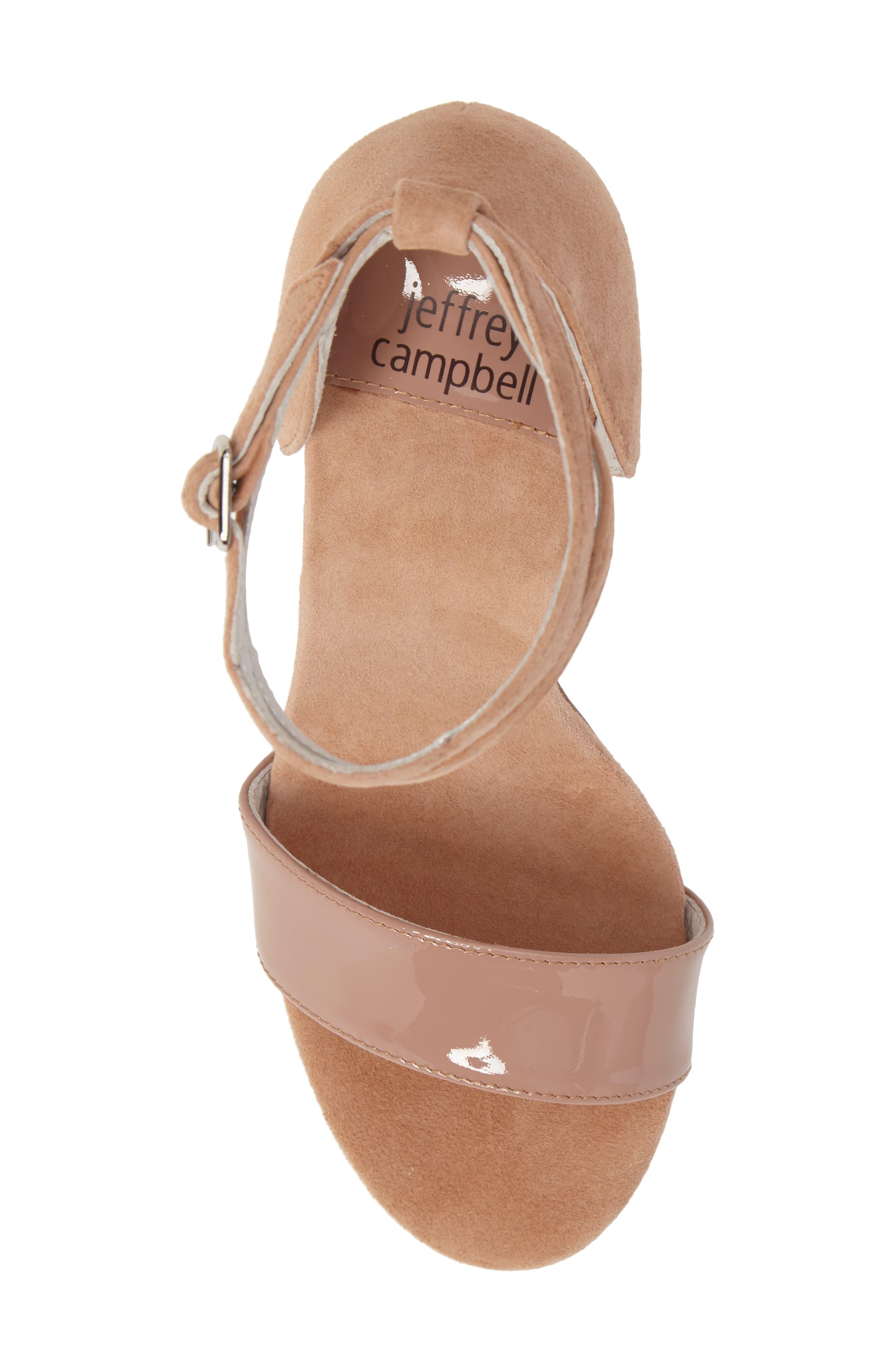 Alternate Image 5  - Jeffrey Campbell Kristy Ankle Strap Sandal (Women)