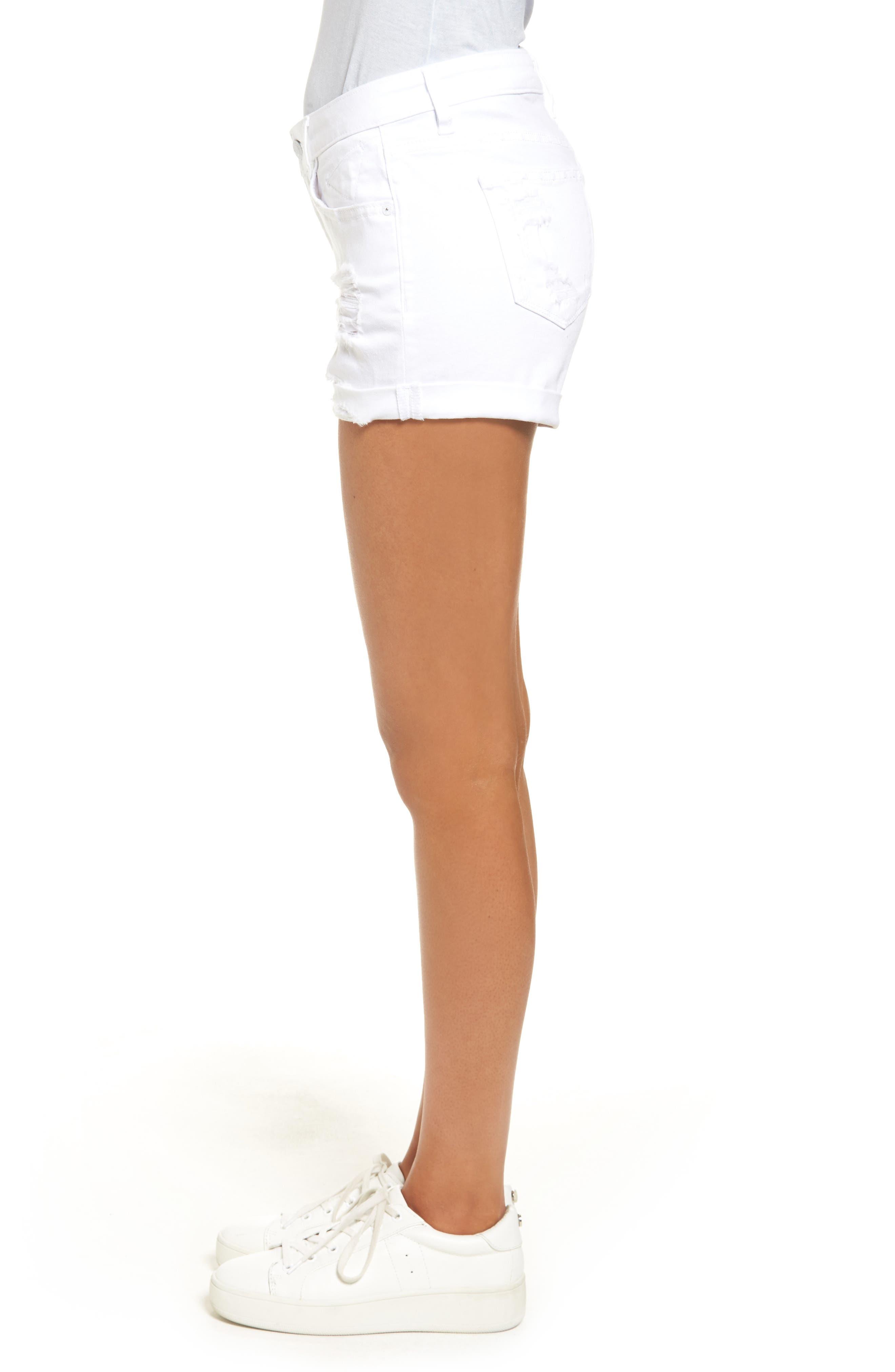 Alternate Image 3  - Vigoss Jagger Cuffed Denim Shorts