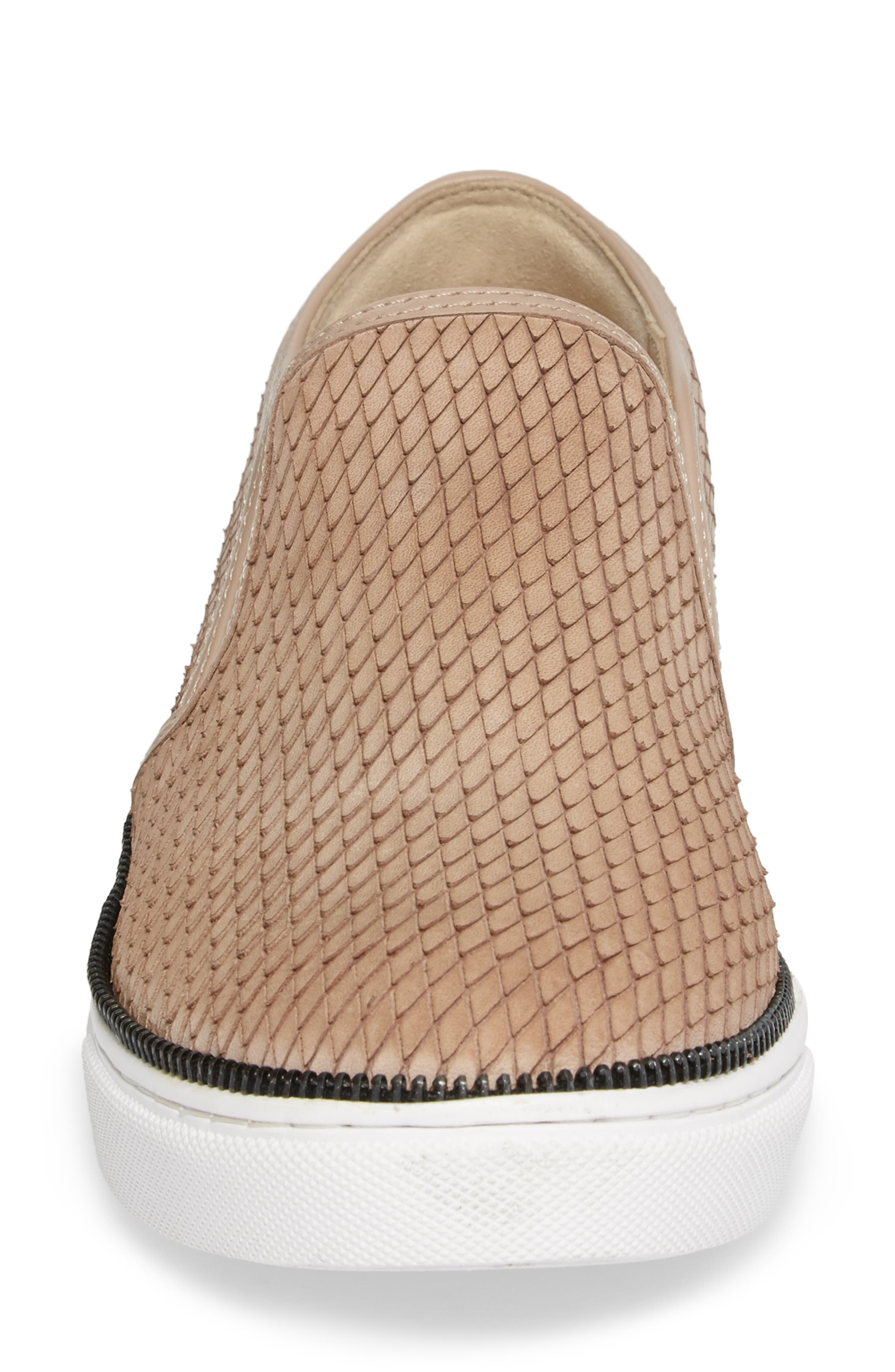 Harper Slip-On Sneaker,                             Alternate thumbnail 2, color,                             Blush Snake