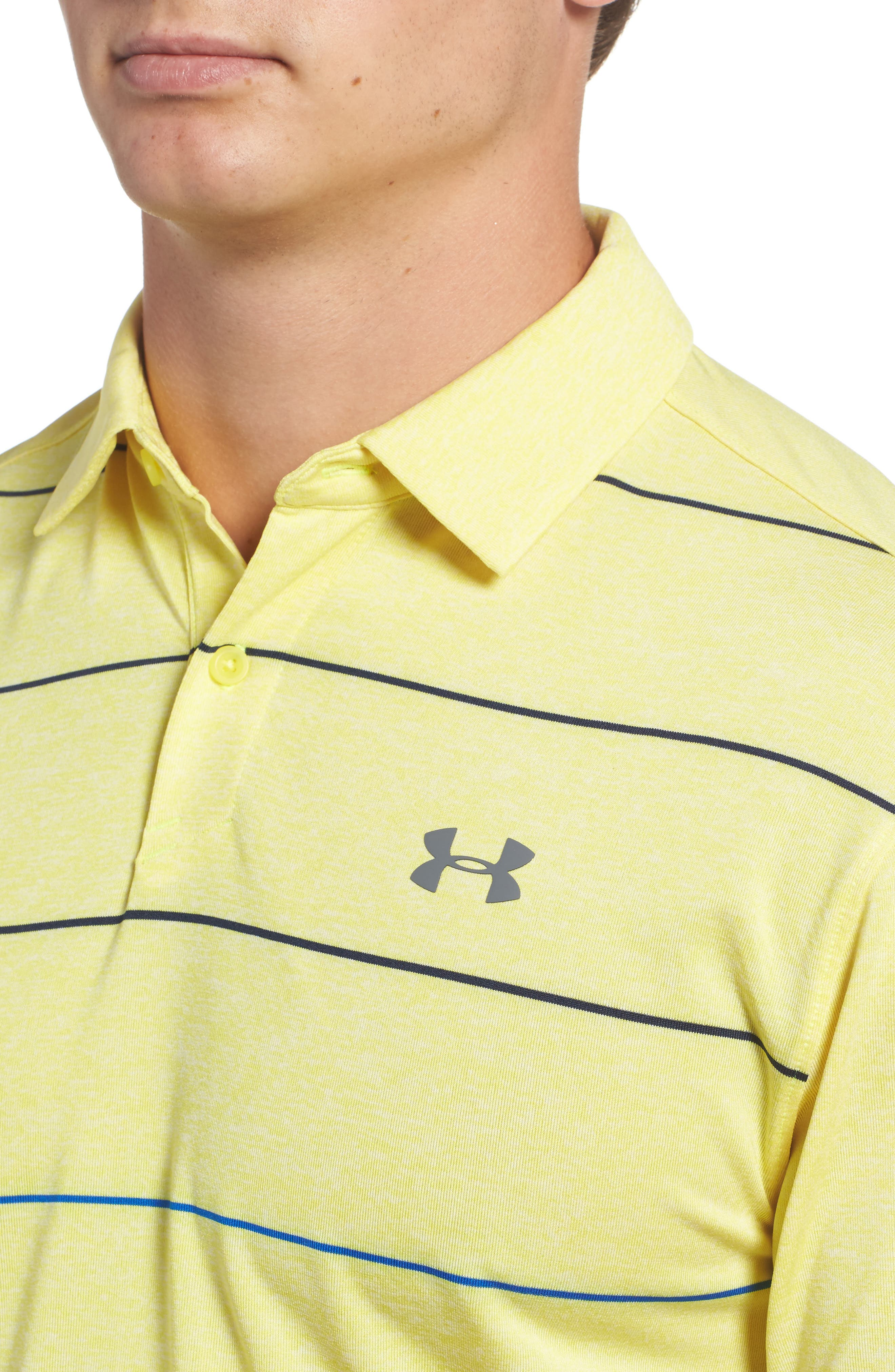 CoolSwitch Regular Fit Polo,                             Alternate thumbnail 3, color,                             Tokyo Lemon / Steel