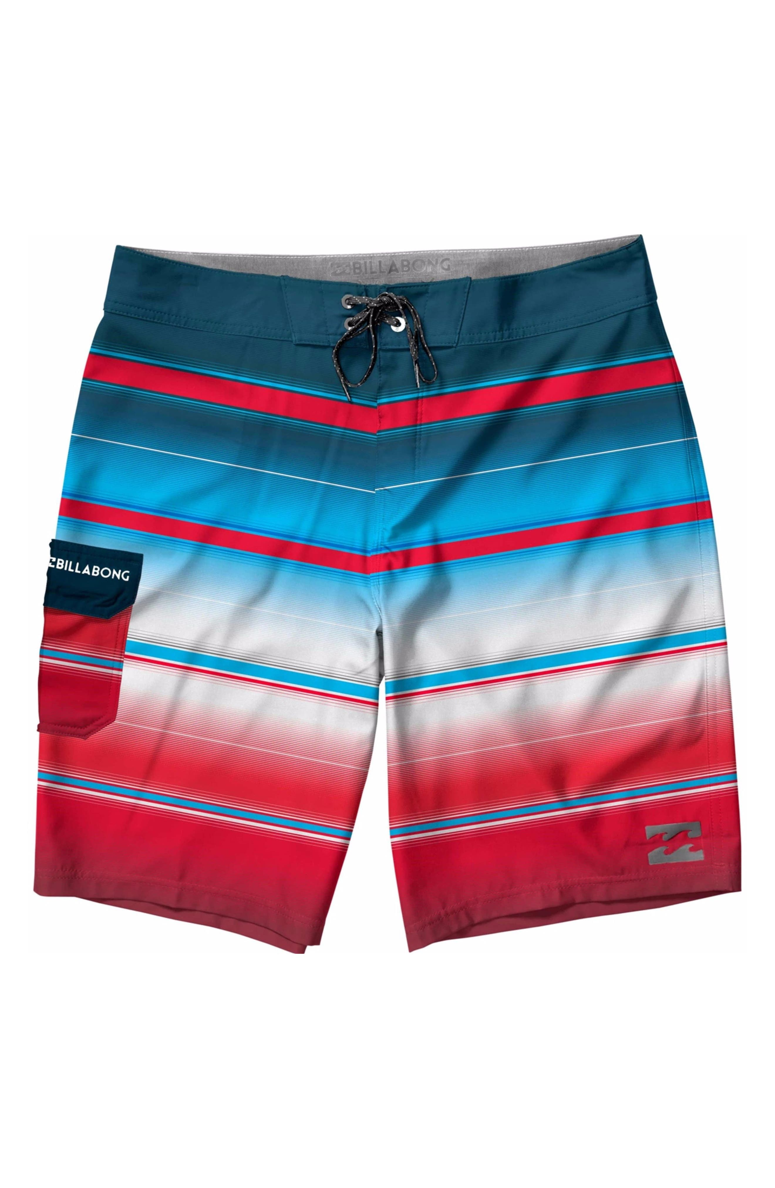 Alternate Image 1 Selected - Billabong All Day Stripe Board Shorts (Big Boys)