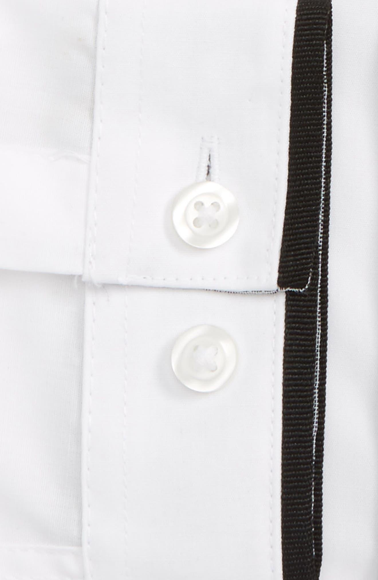 Alternate Image 6  - Topman Slim Fit Contrast Dress Shirt