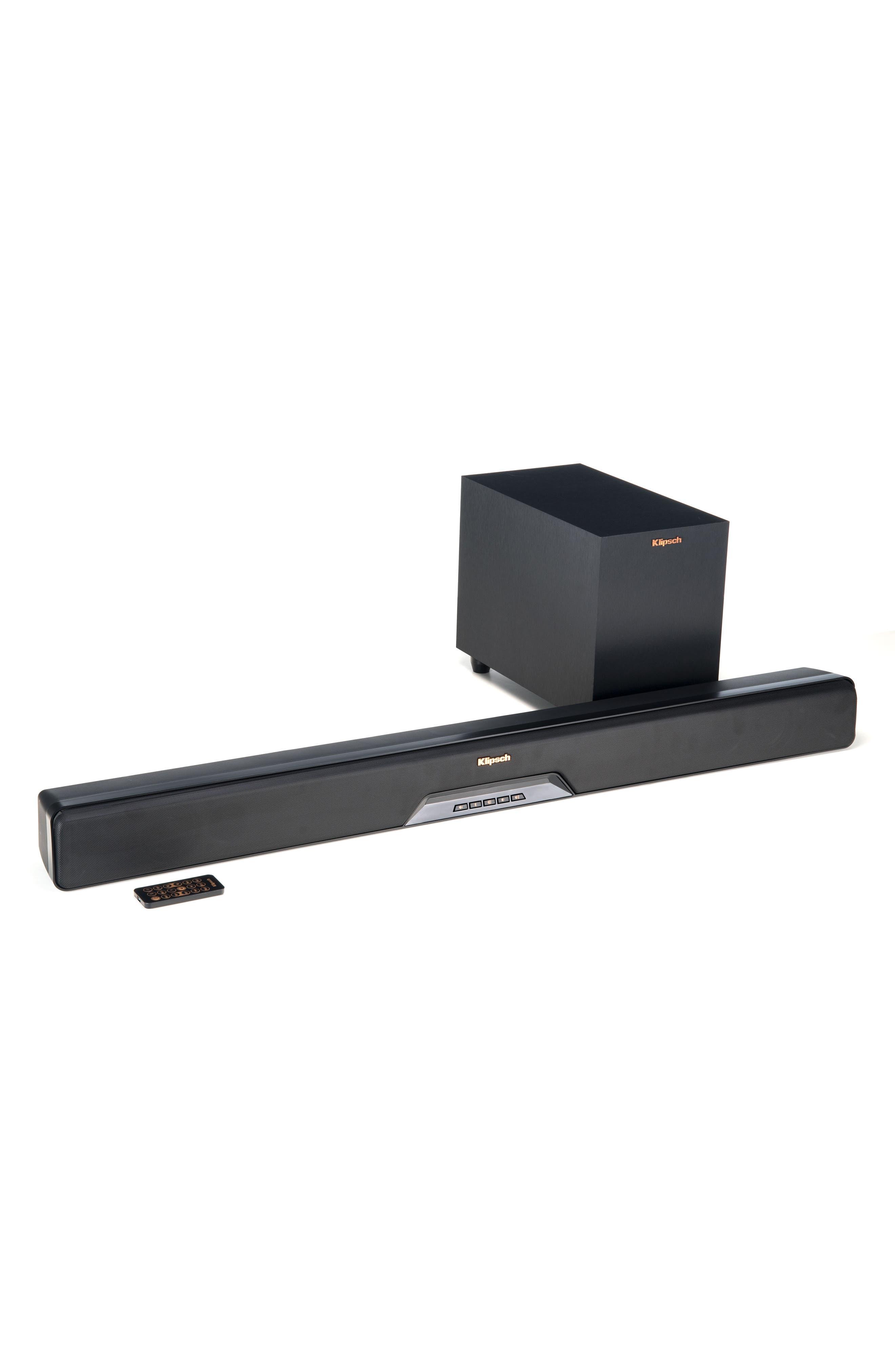 RSB-6 Soundbar & Subwoofer,                         Main,                         color, Black