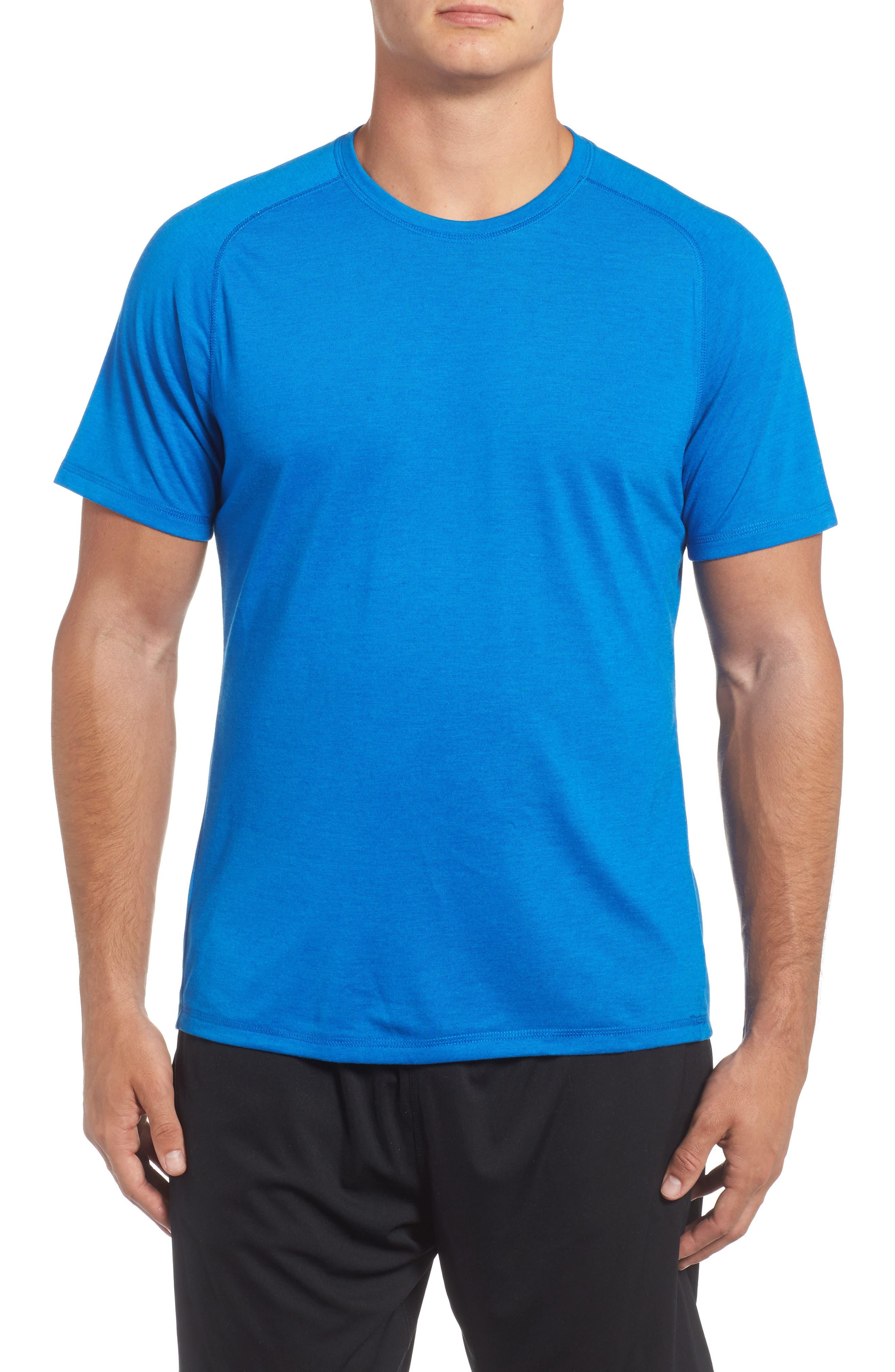 Celsian Training T-Shirt,                         Main,                         color, Blue Vivid