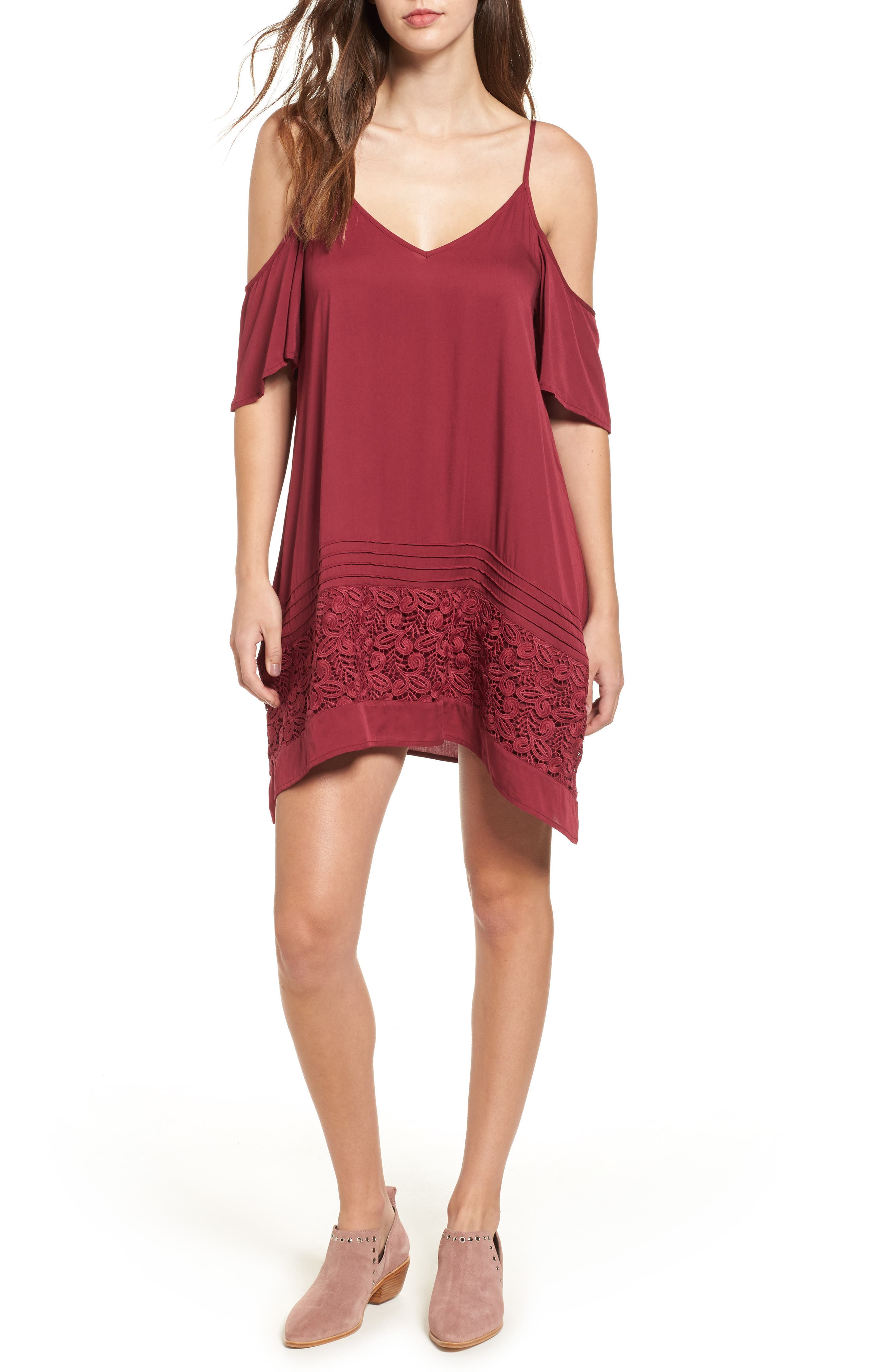 O'Neill Balboa Off the Shoulder Dress