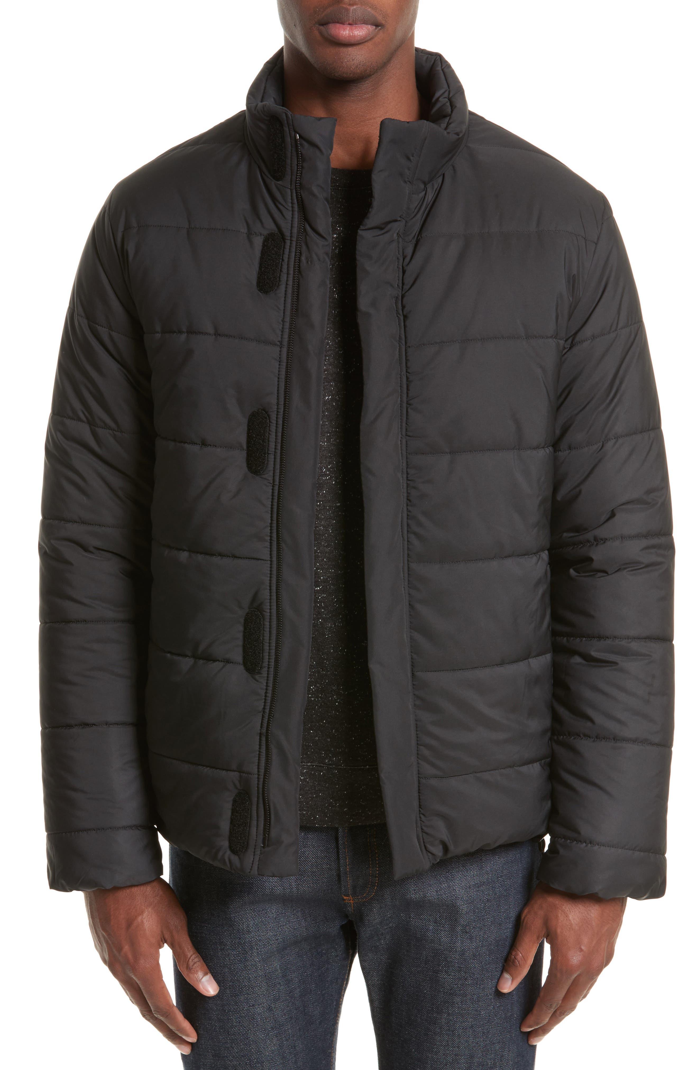 Quilted Creek Jacket,                         Main,                         color, Noir