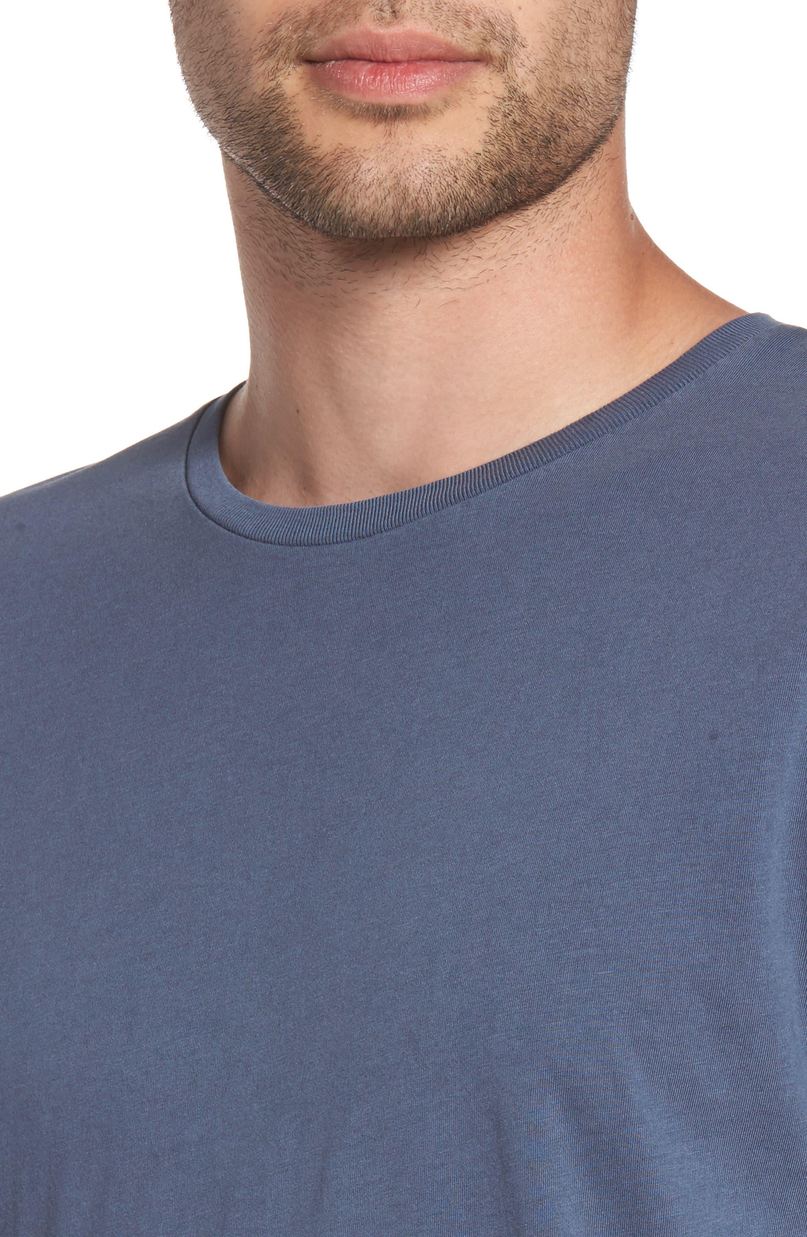Flintlock Stripe T-Shirt,                             Alternate thumbnail 5, color,                             Pigment Blue Grey