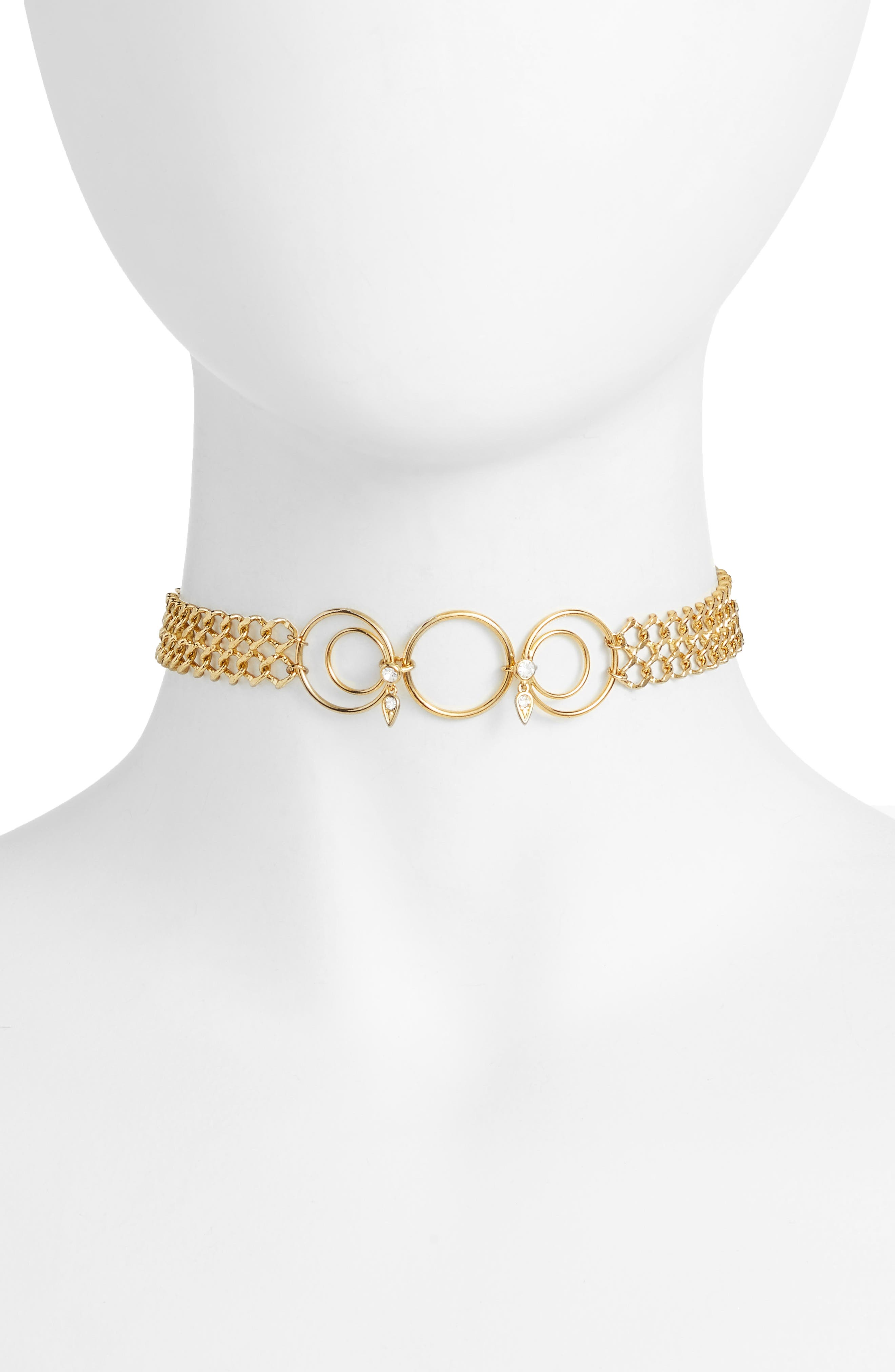 Alternate Image 1 Selected - Luv AJ Eclipse Choker Necklace