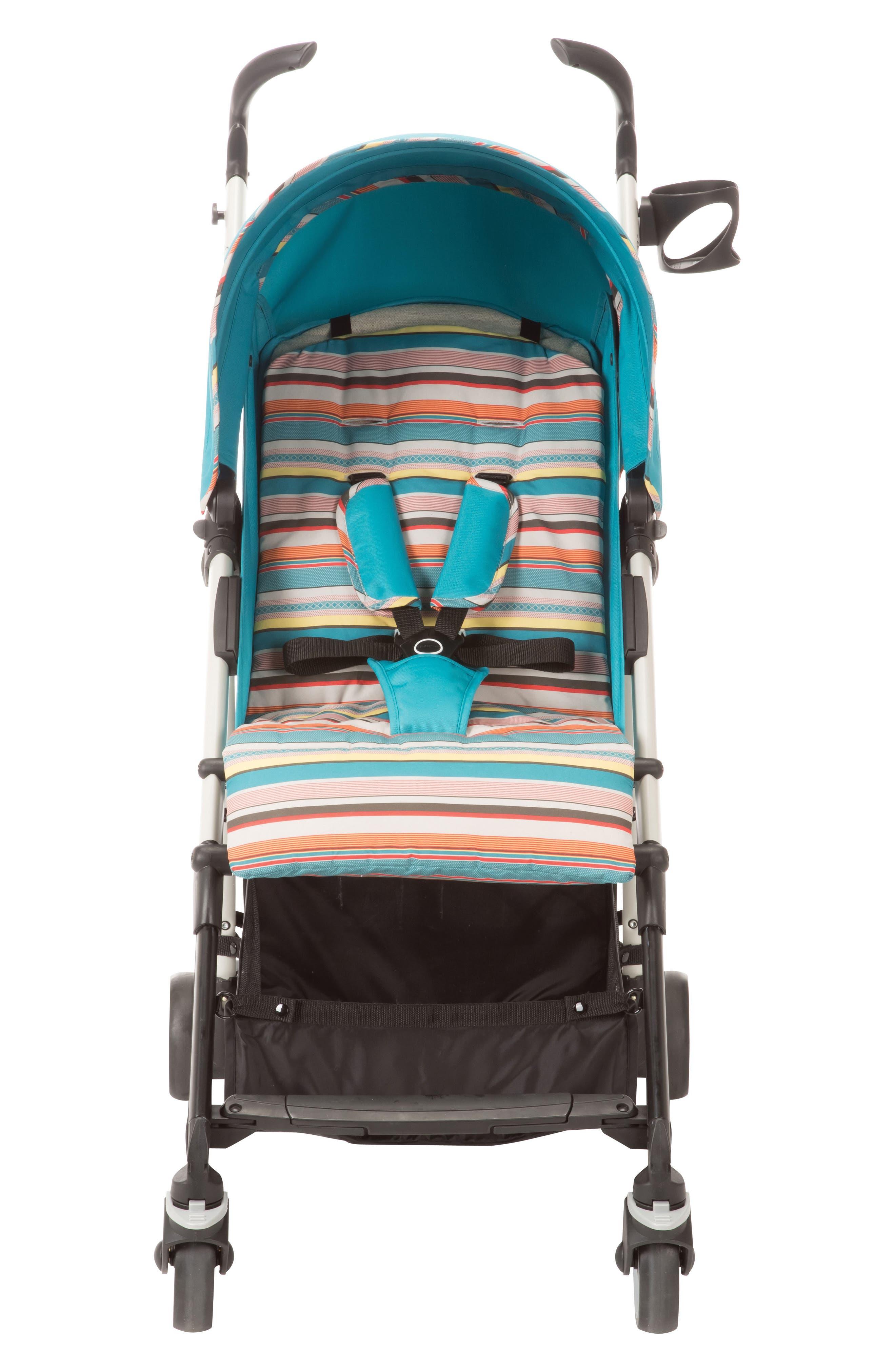 Kaia<sup>™</sup> Compact Stroller,                             Alternate thumbnail 4, color,                             Bohemian Blue