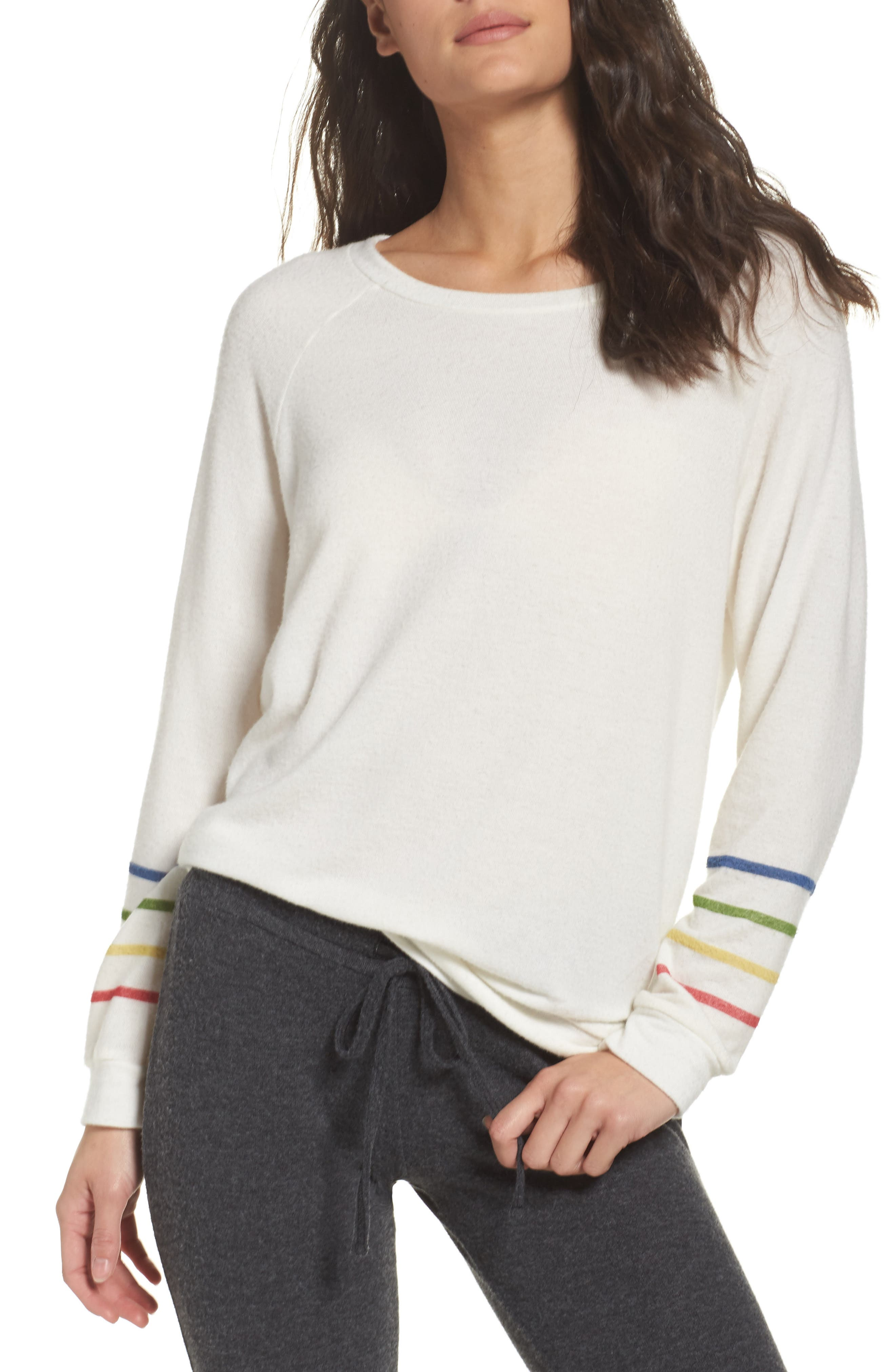 Percy Pullover,                             Main thumbnail 1, color,                             Creme