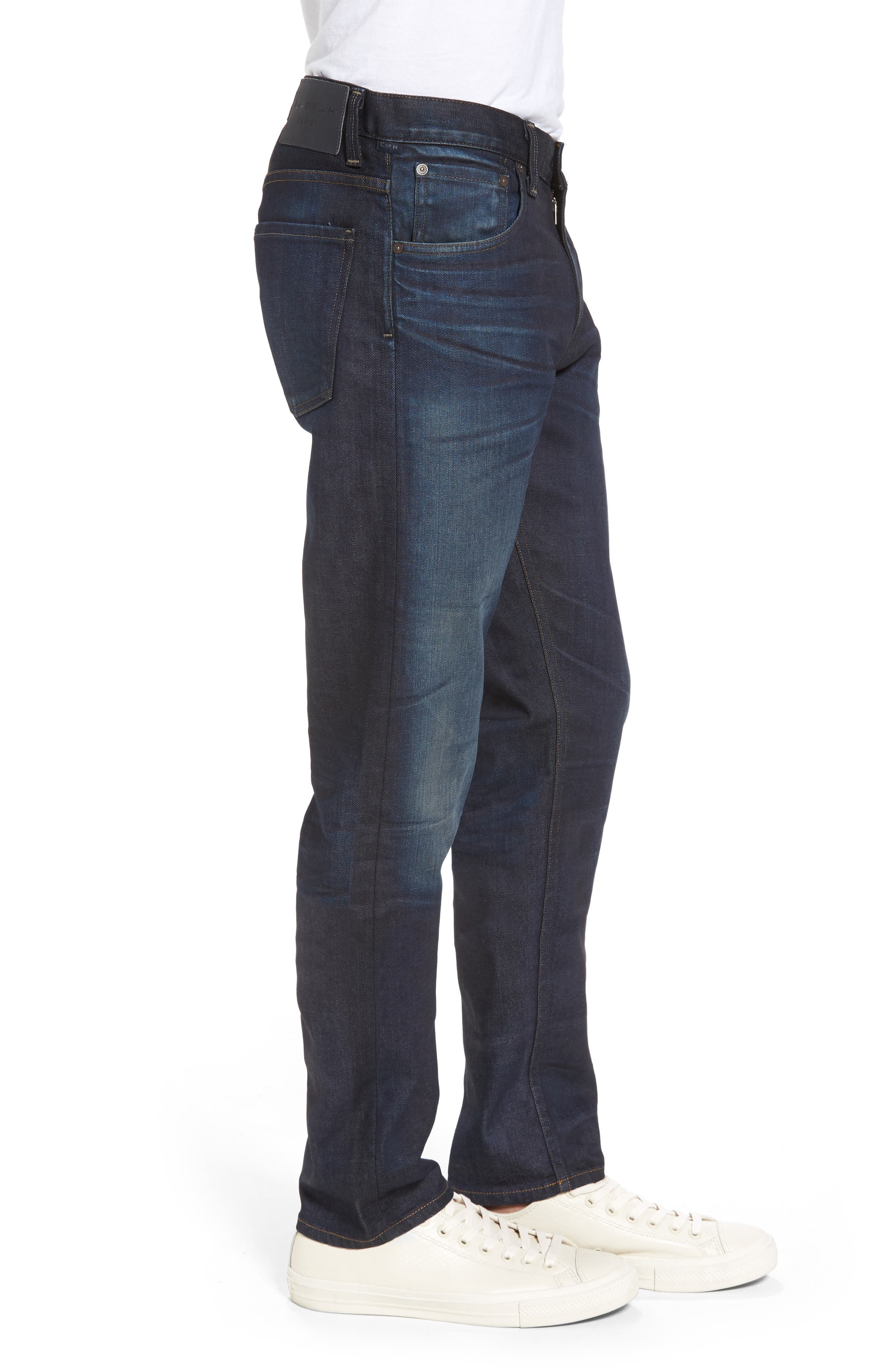 Alternate Image 3  - Citizens of Humanity Bowery Slim Fit Jeans (Huron) (Tall)