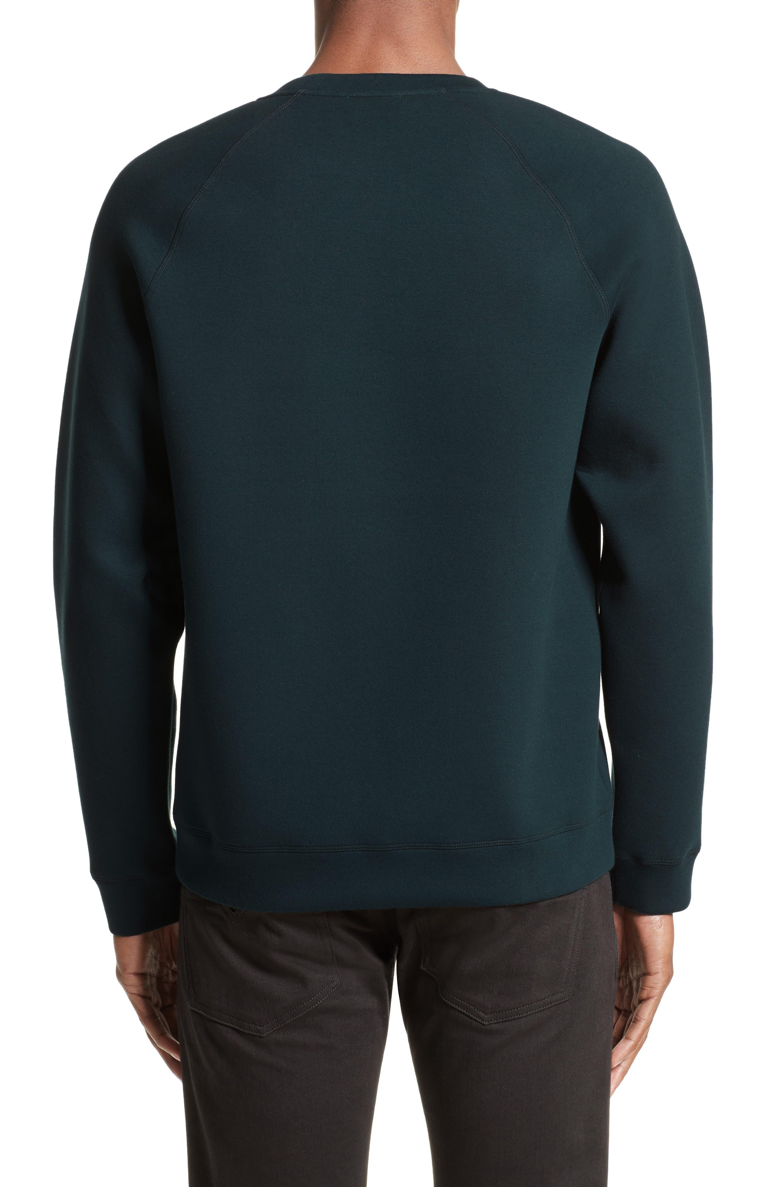 Alternate Image 2  - Versace Collection Crest Sweatshirt