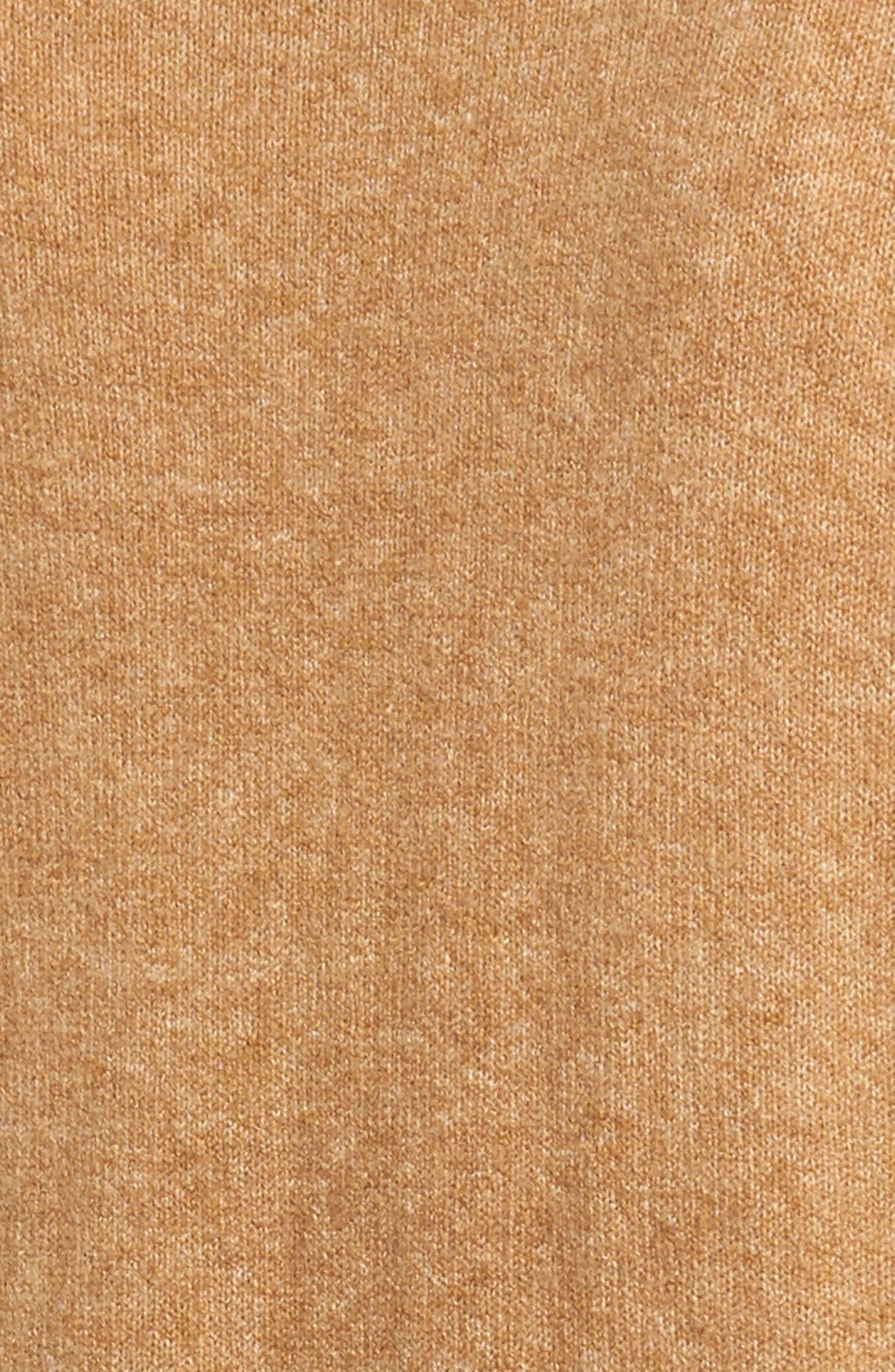 Alternate Image 5  - Halogen® Long Sleeve V-Neck Cardigan (Regular & Petite)