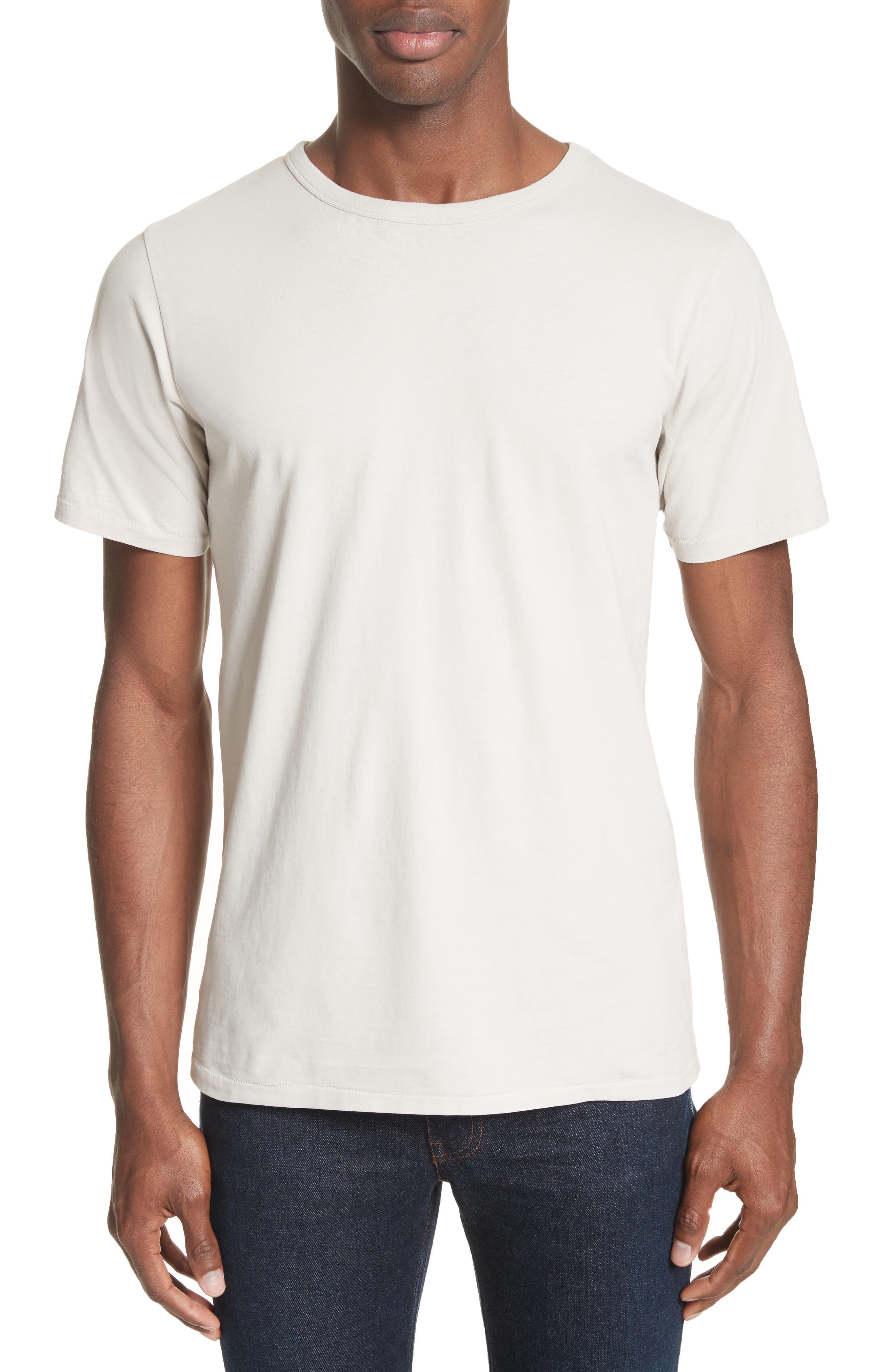 Brandon Pima Cotton T-Shirt,                             Main thumbnail 1, color,                             Dune
