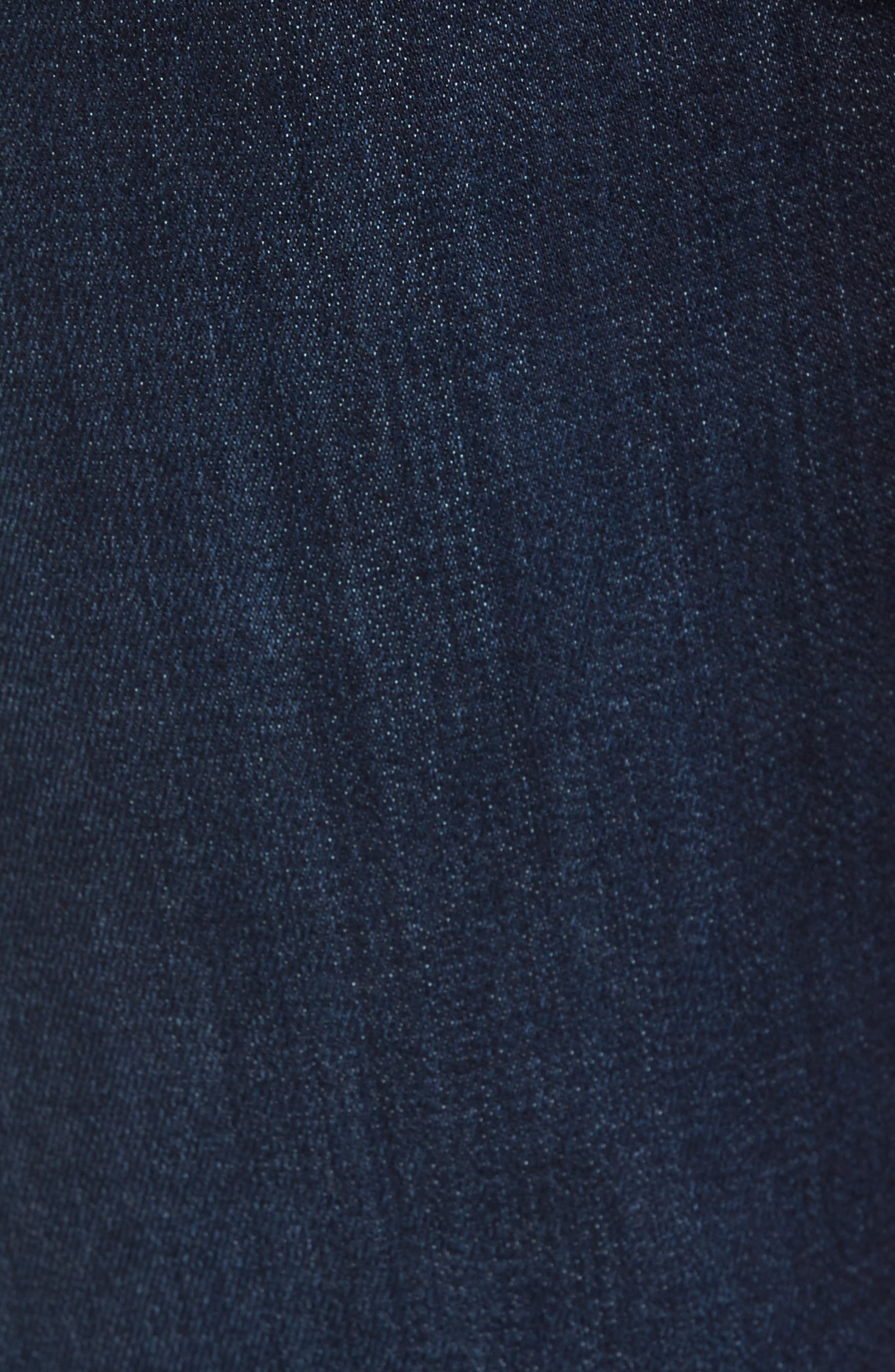 Alternate Image 5  - 34 Heritage Courage Straight Leg Jeans (Dark Rome)