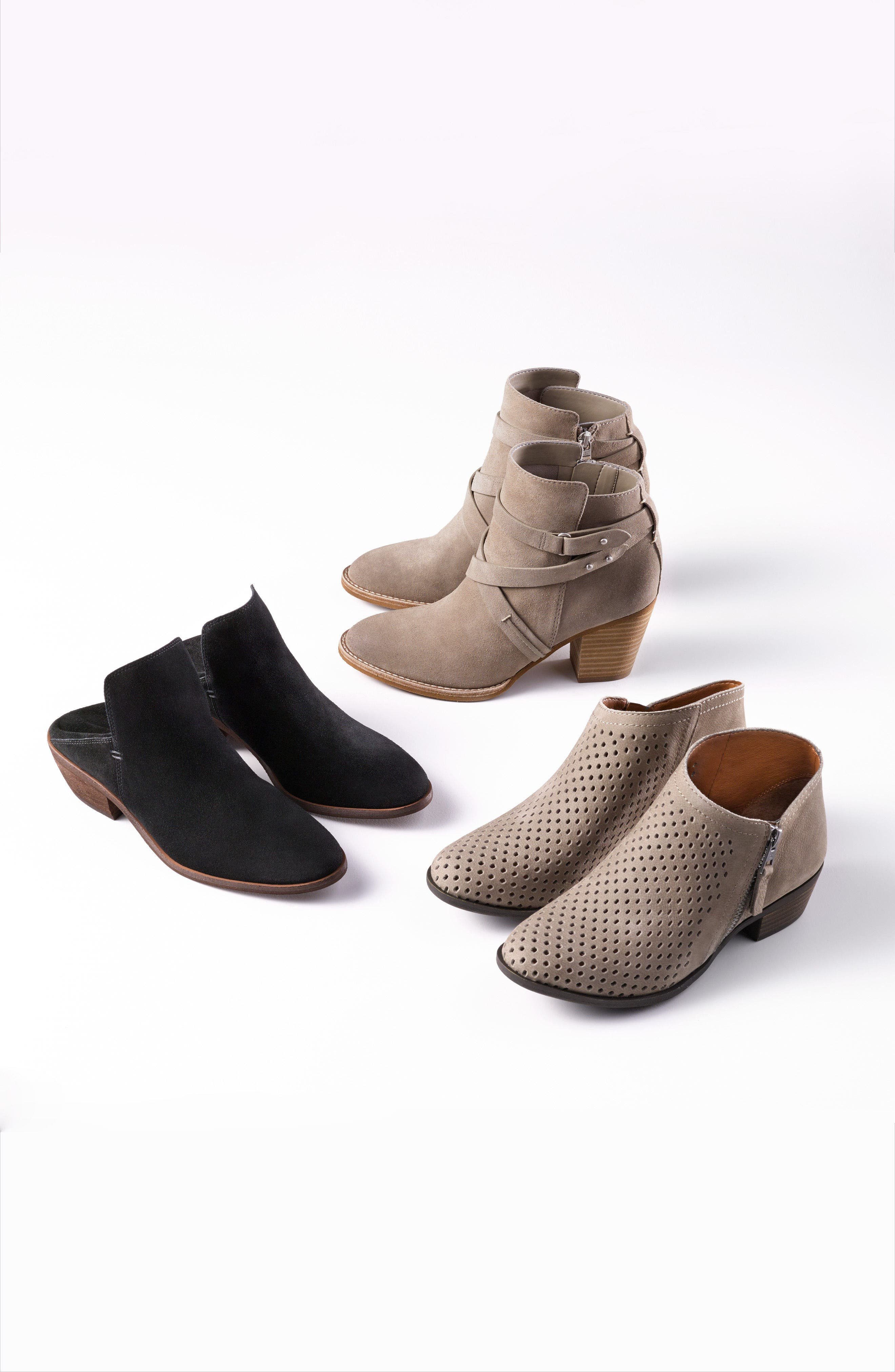 Alternate Image 8  - Lucky Brand Brielley Perforated Bootie (Women)