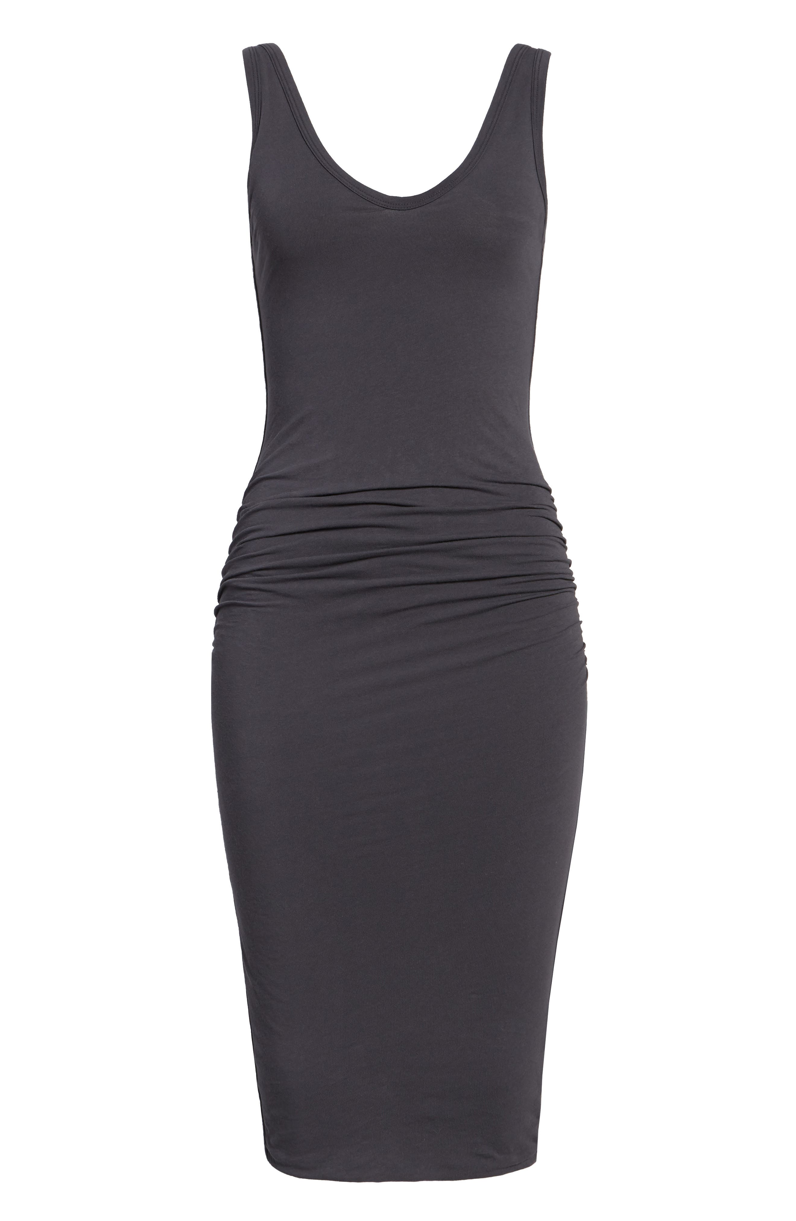 Alternate Image 6  - James Perse Skinny Ruched Tank Dress