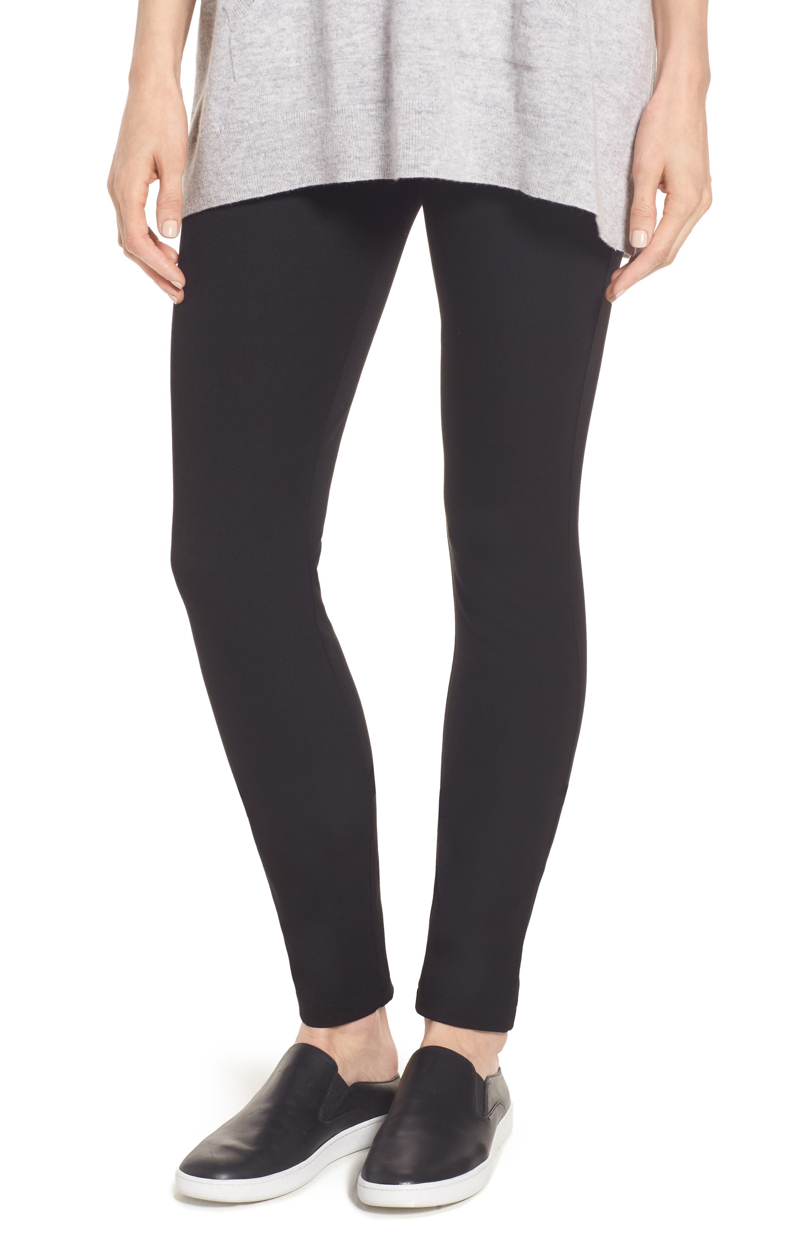 Stretch Pants,                         Main,                         color, Black