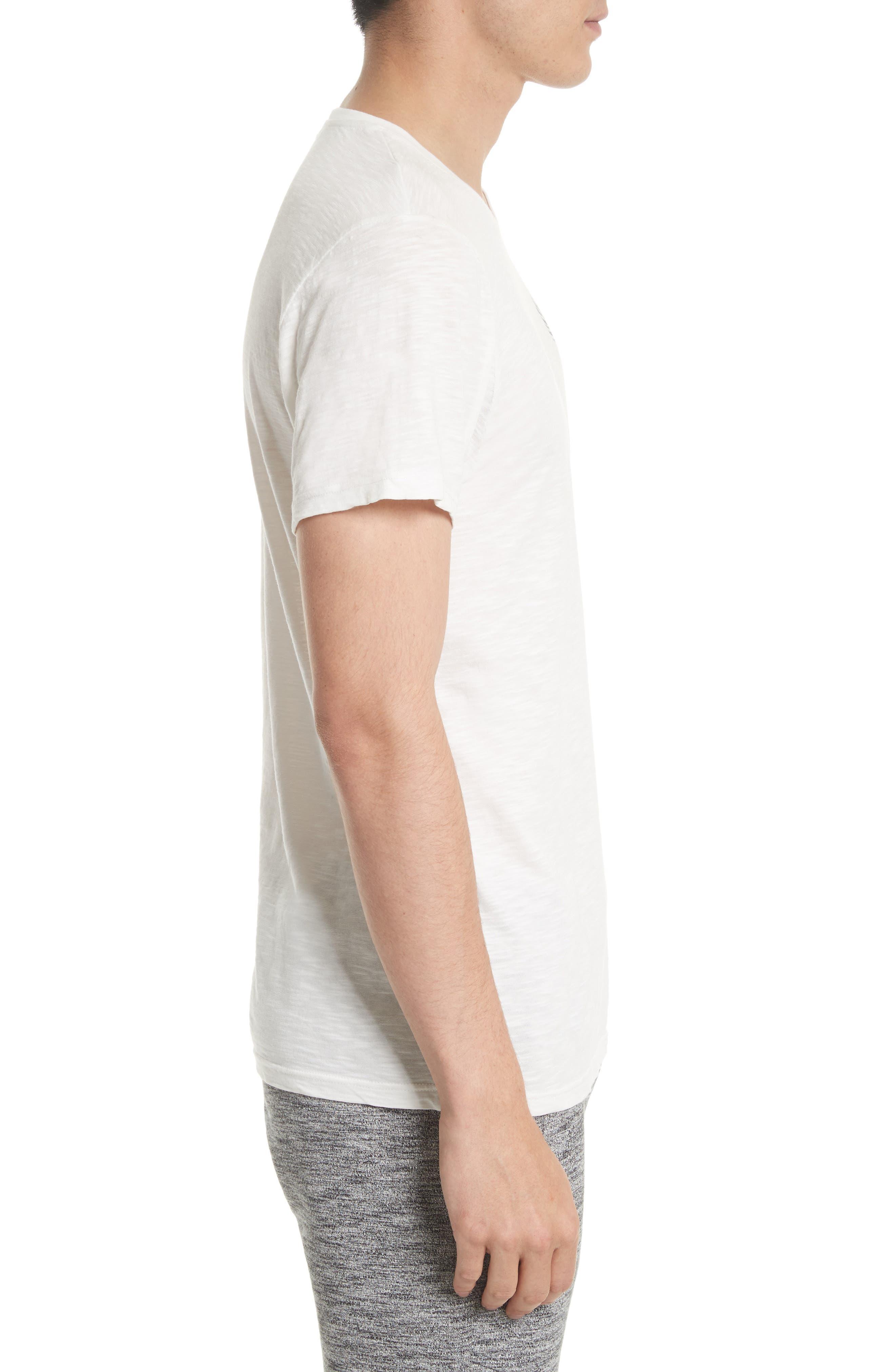 Hamberton Logo T-Shirt,                             Alternate thumbnail 3, color,                             Off White