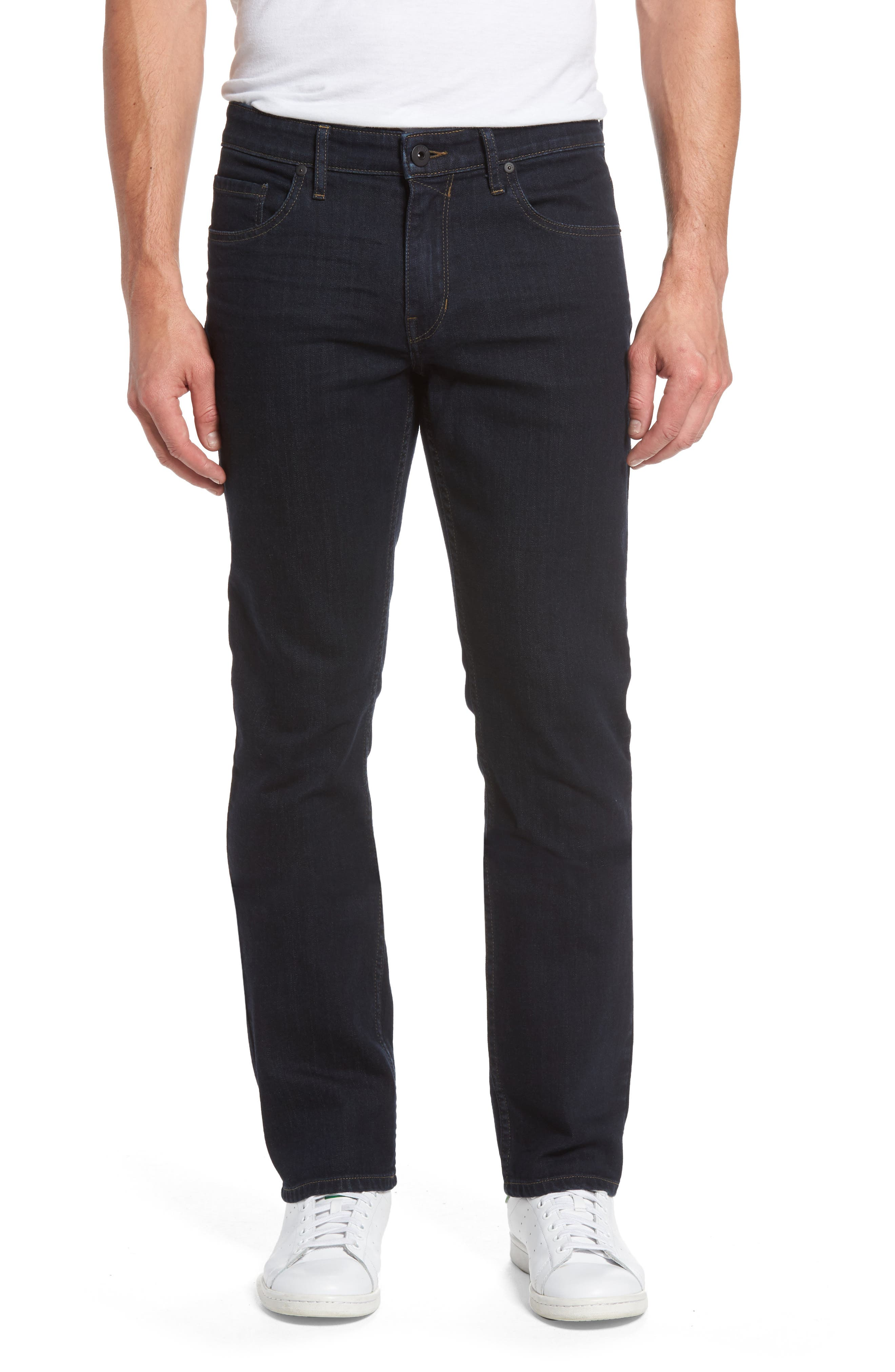 PAIGE Normandie Straight Fit Jeans (Marshall)