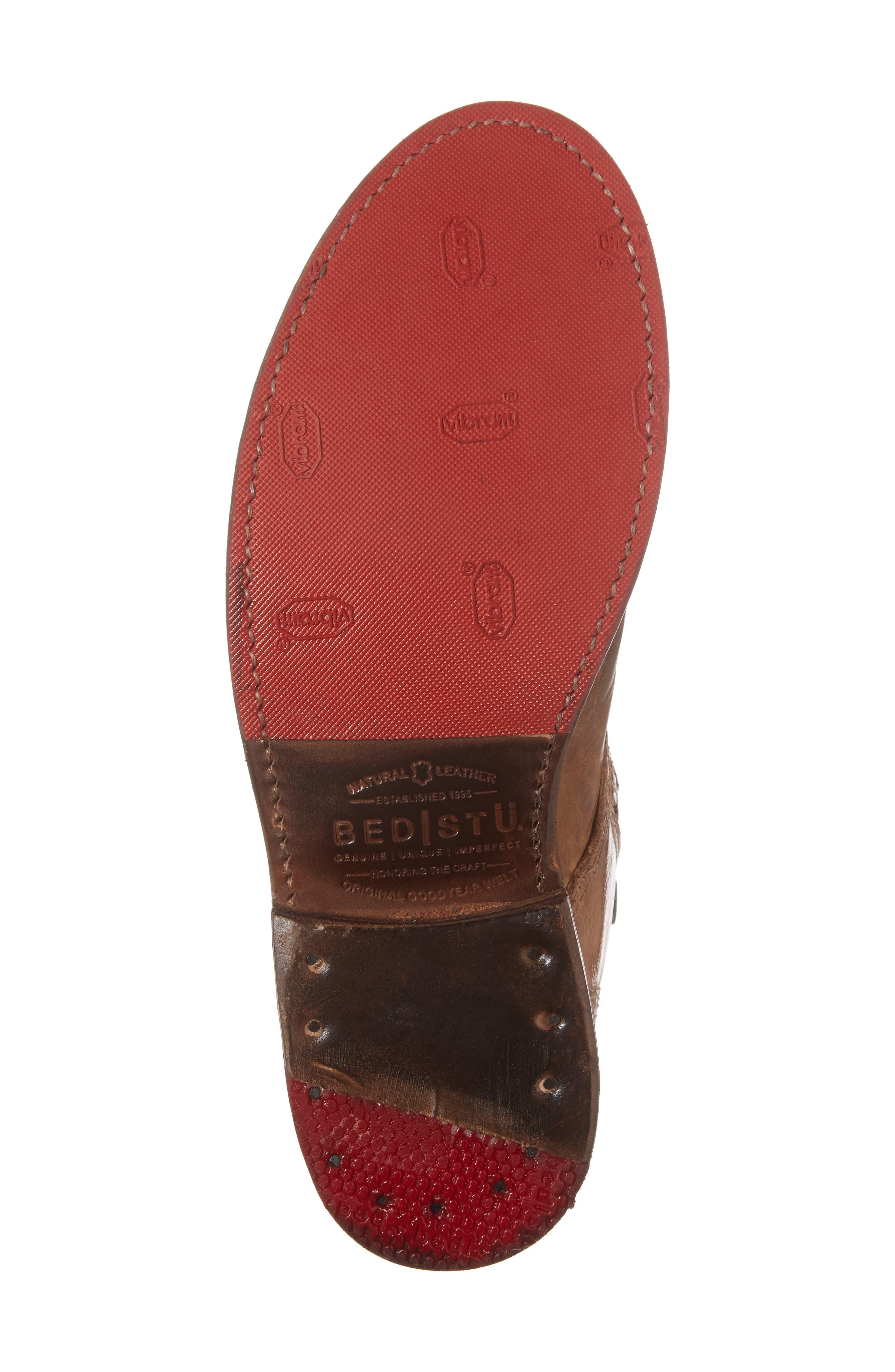 'Bonnie' Boot,                             Alternate thumbnail 6, color,                             Tan Rustic Leather