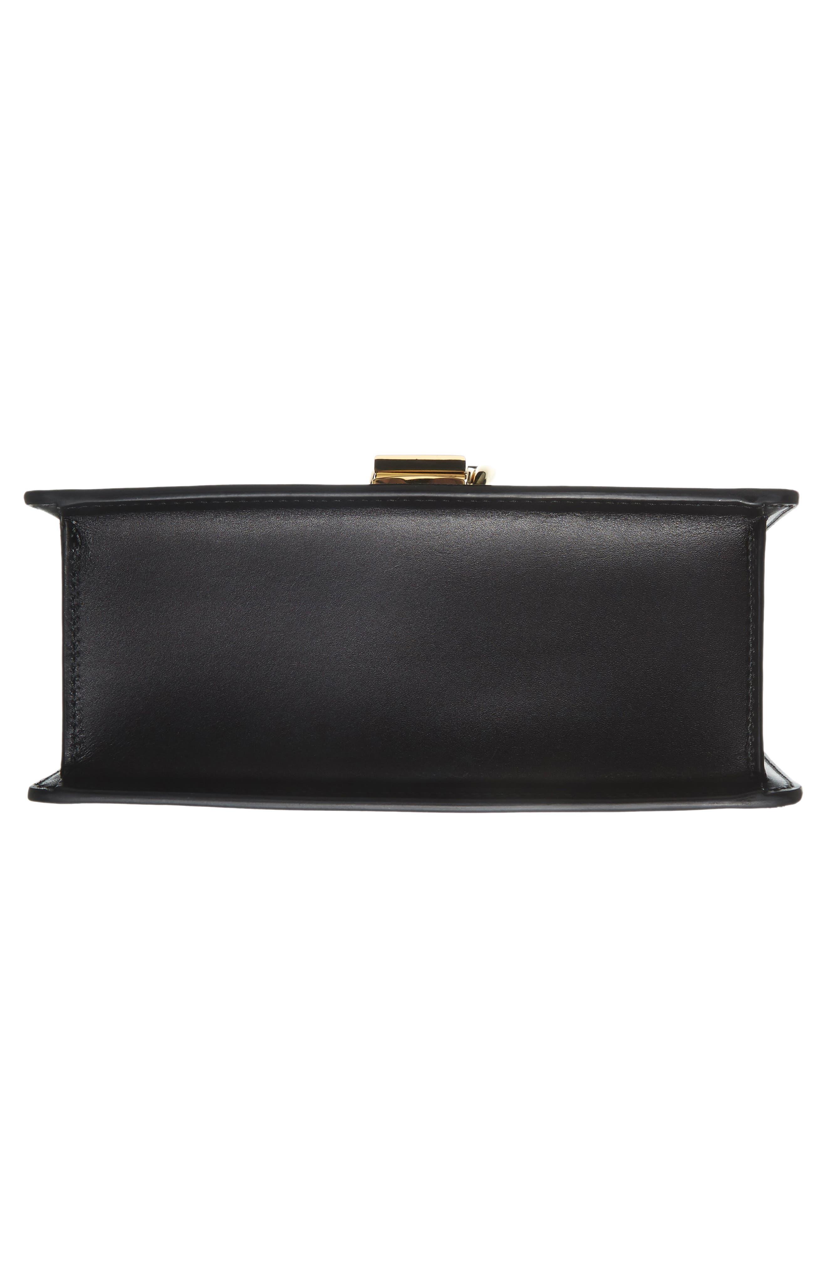 Alternate Image 8  - Gucci Mini Sylvie Top Handle Leather Shoulder Bag