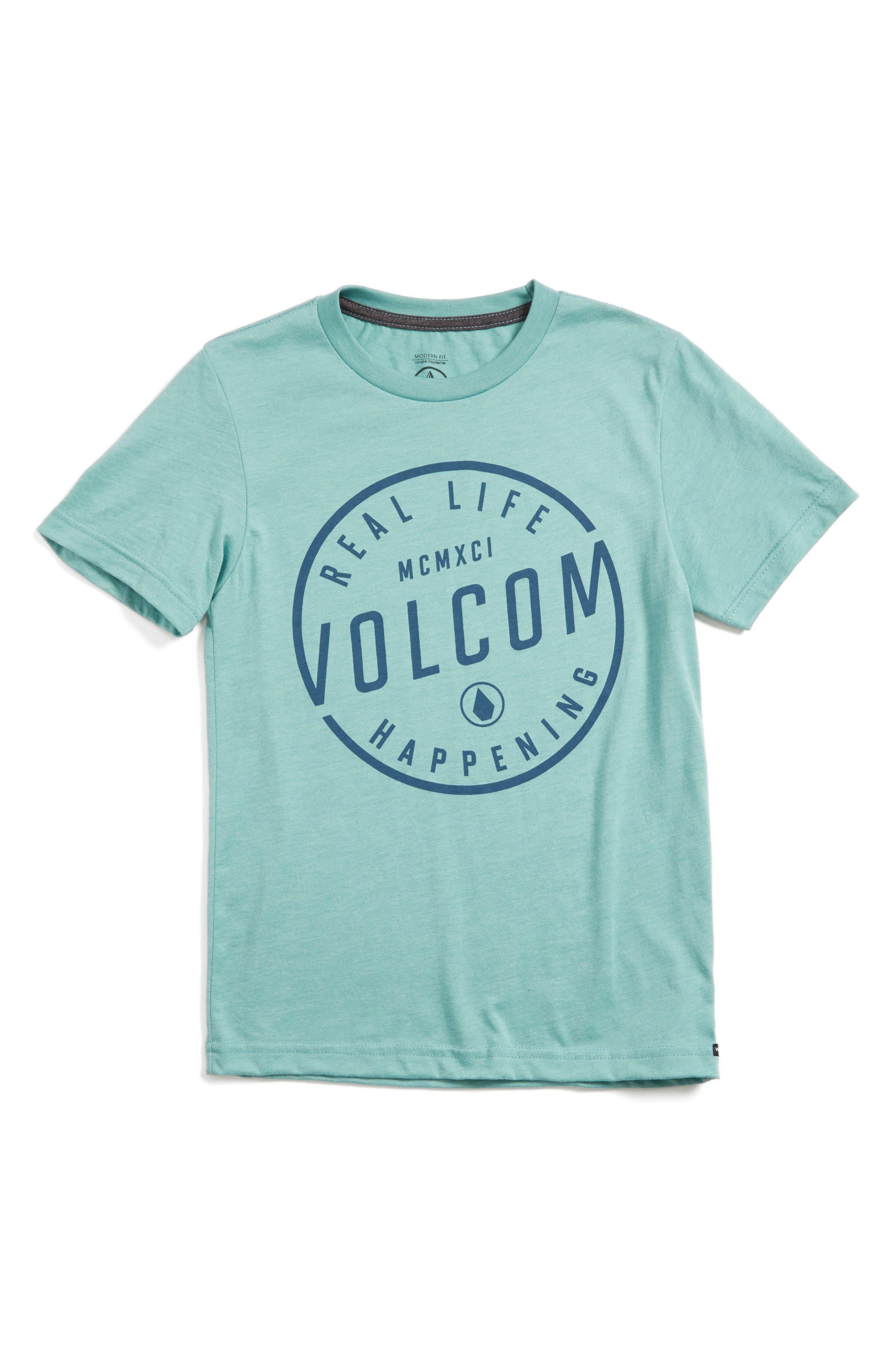 Alternate Image 1 Selected - Volcom On Lock Graphic T-Shirt (Toddler Boys, Little Boys & Big Boys)