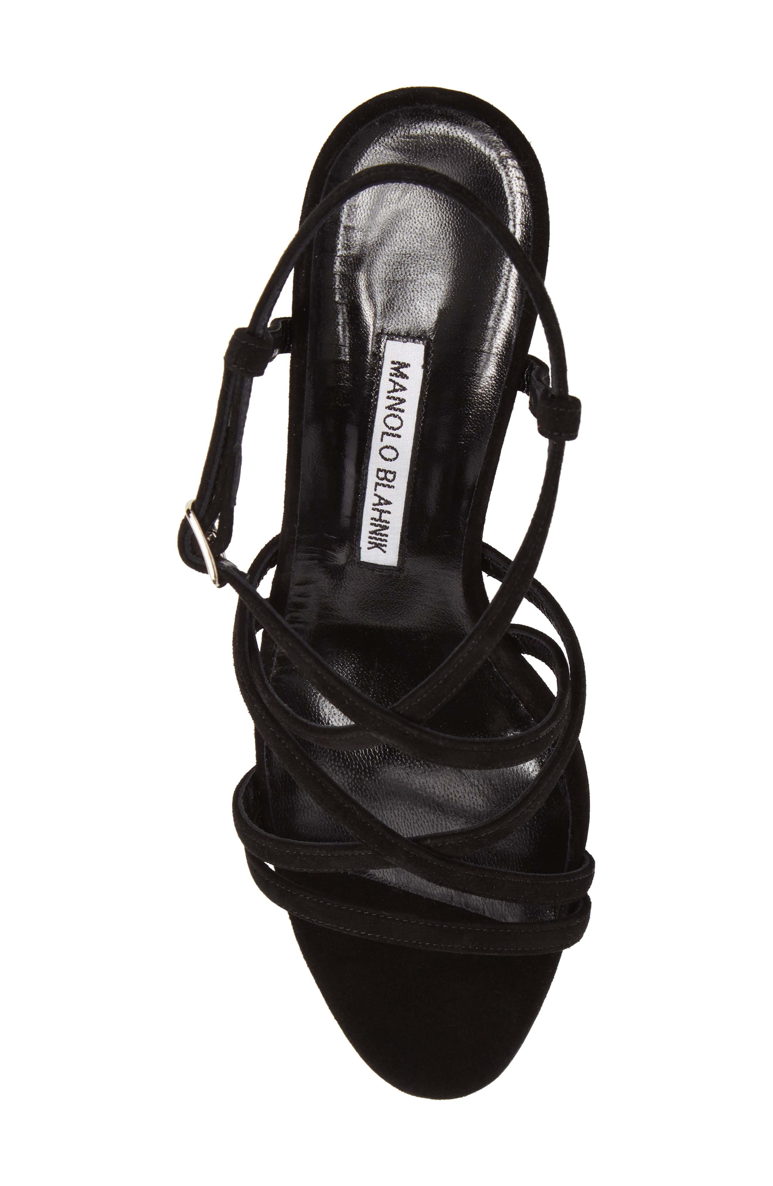 Alternate Image 5  - Manolo Blahnik Atrita Sandal (Women)
