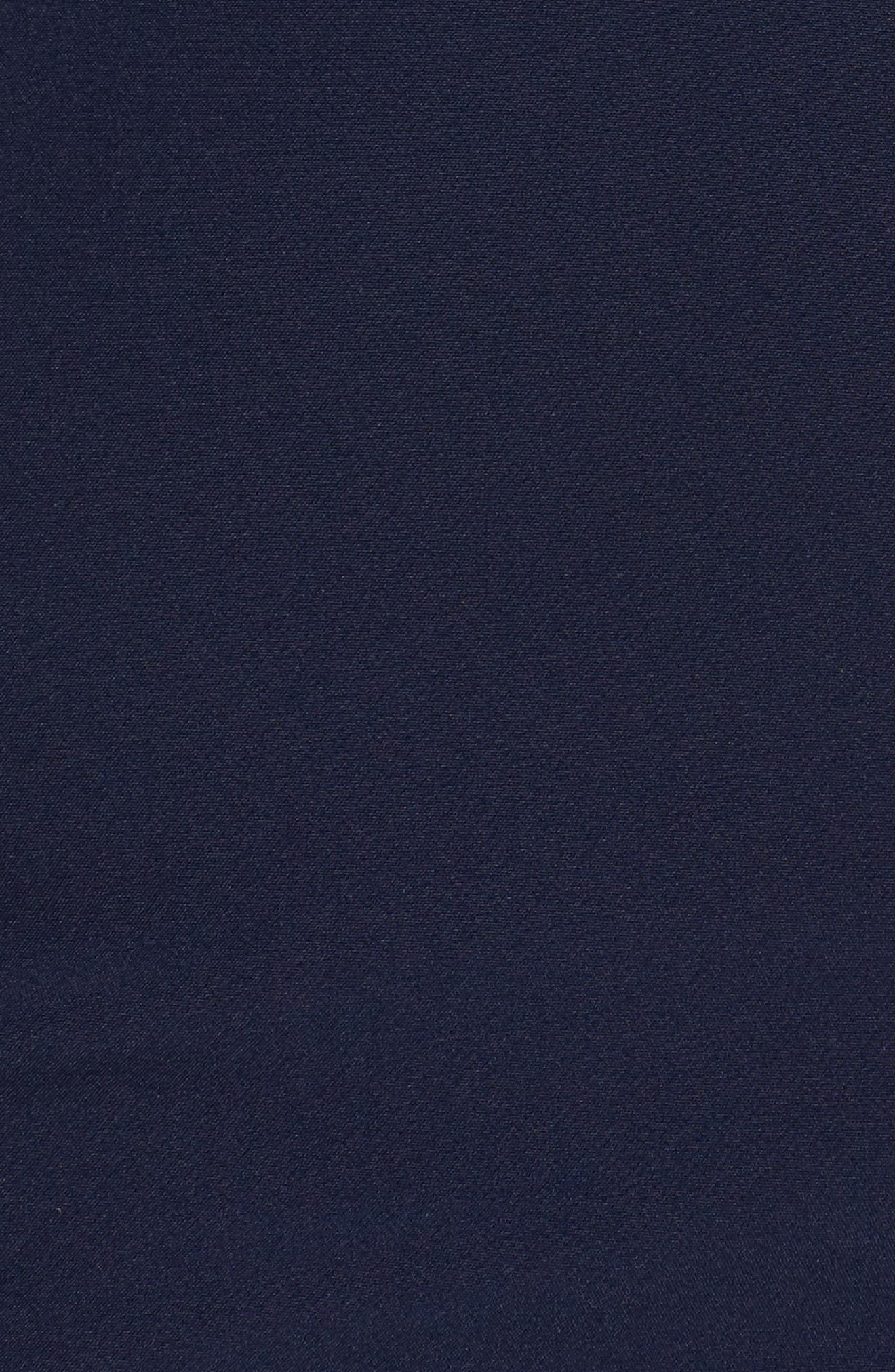 Alternate Image 5  - Alex Evenings Mixed Media Surplice Sheath Dress (Plus Size)