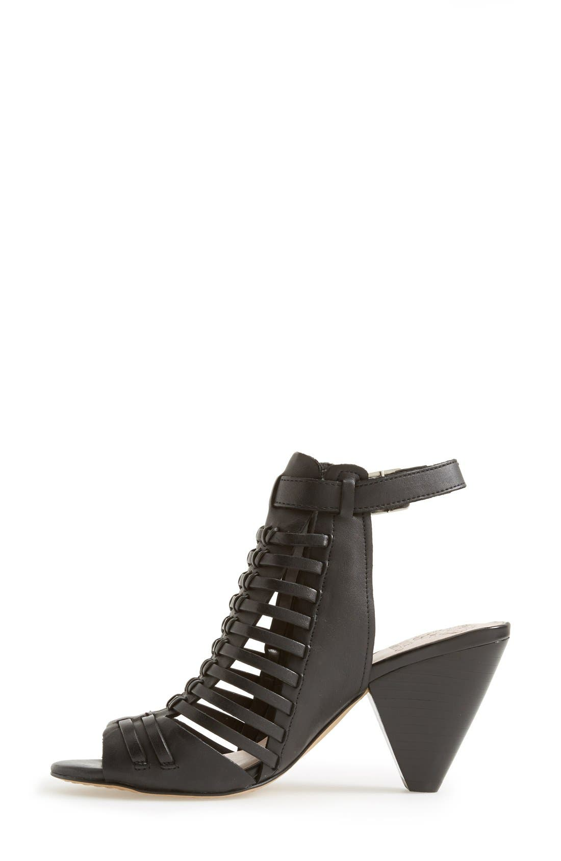 'Effel' Sandal,                             Alternate thumbnail 5, color,                             Black