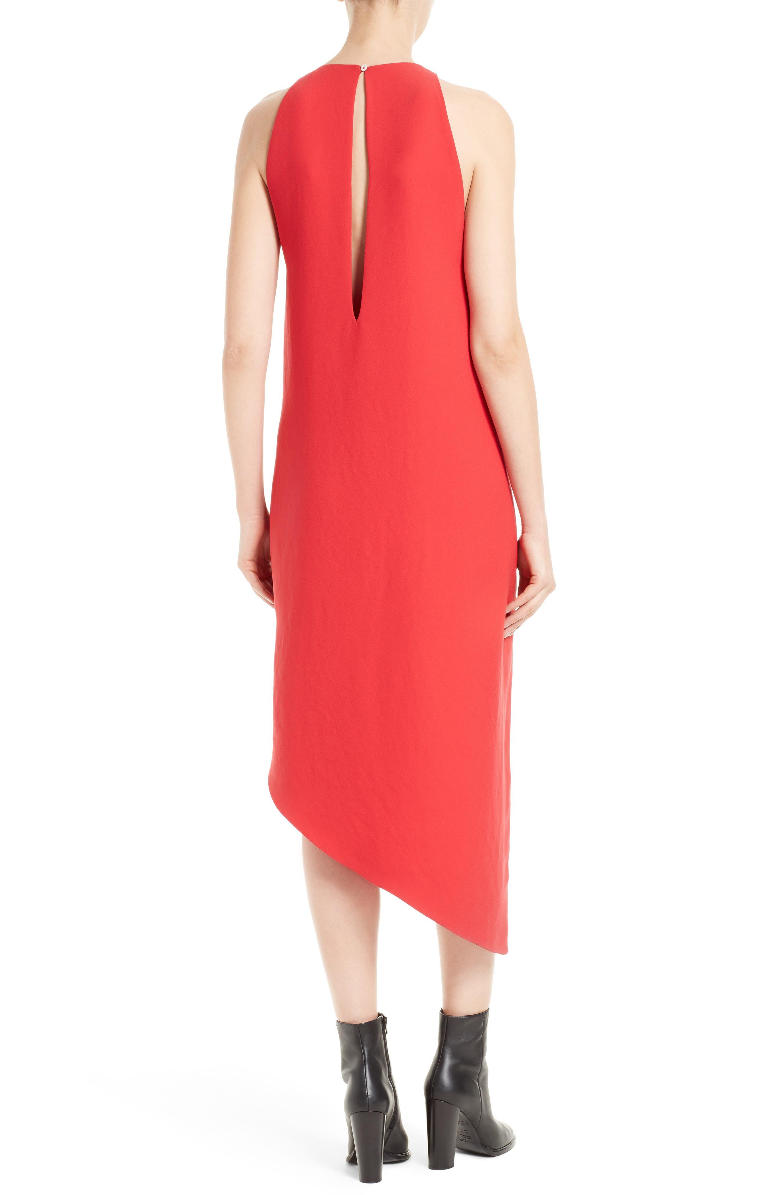 Alternate Image 2  - IRO Hamlin Asymmetrical High/Low Dress