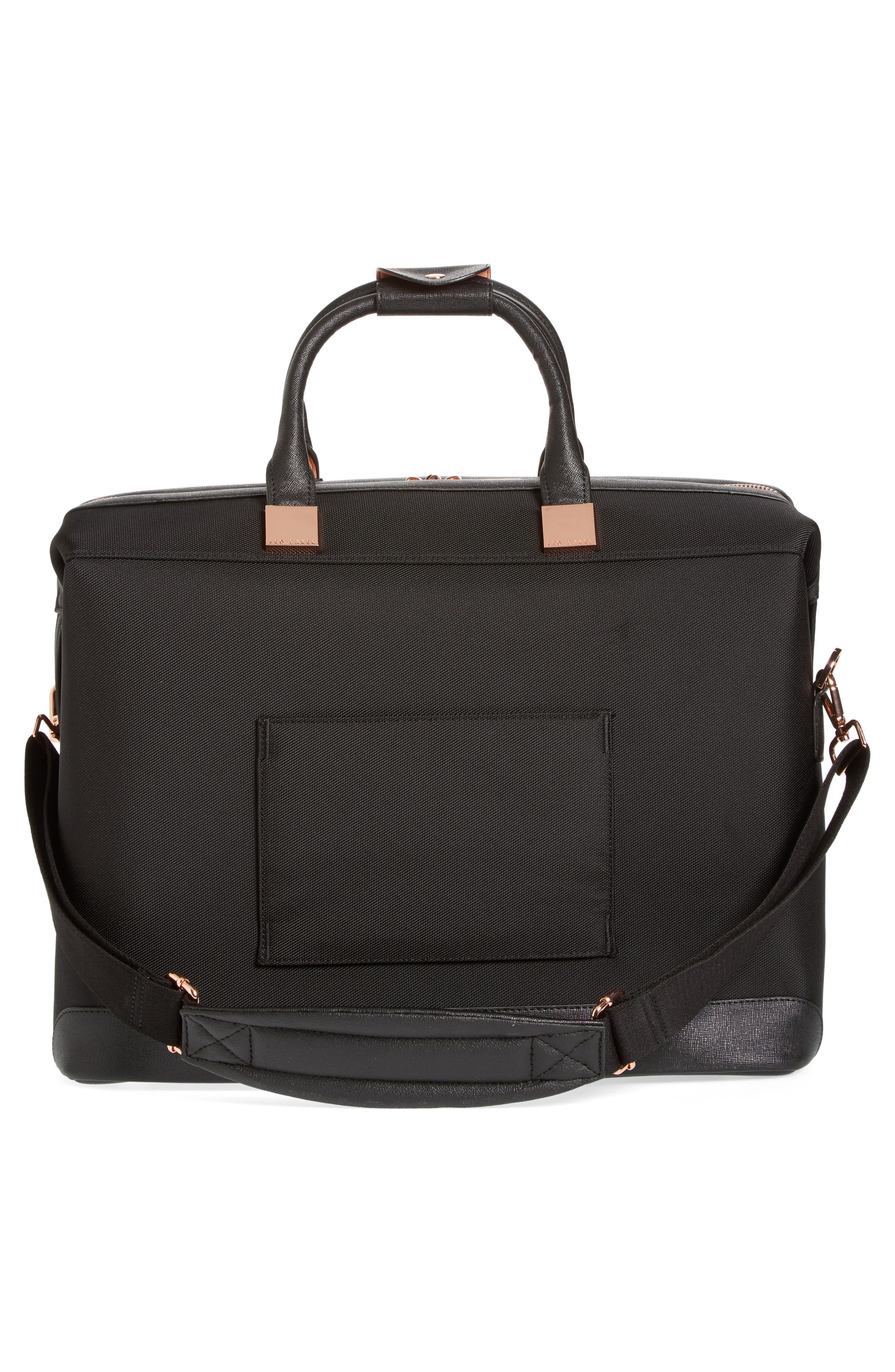Small Albany Duffel Bag,                             Alternate thumbnail 2, color,                             Black