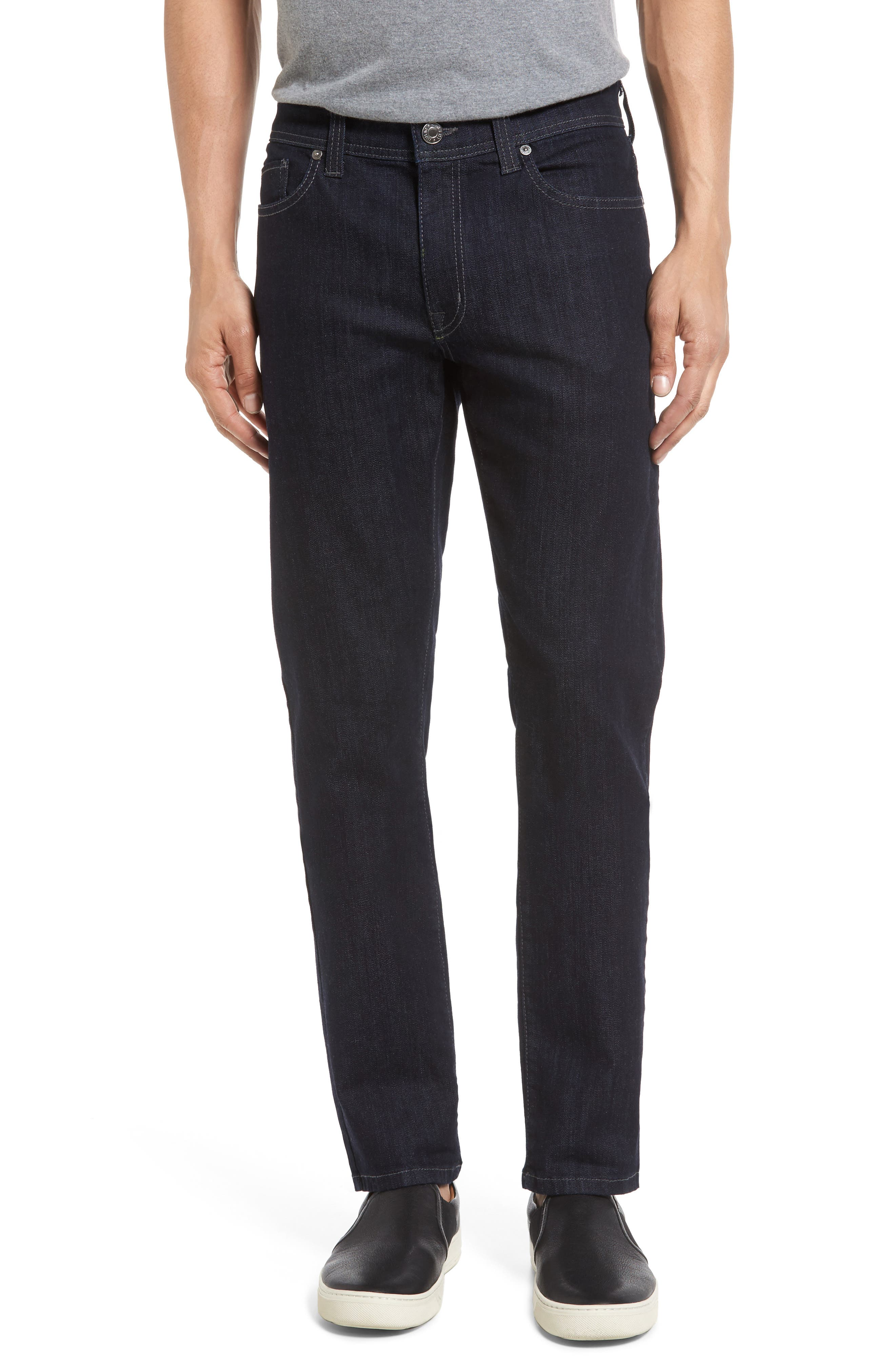 Alternate Image 1 Selected - Fidelity Denim Torino Slim Fit Jeans (Capital Blue)