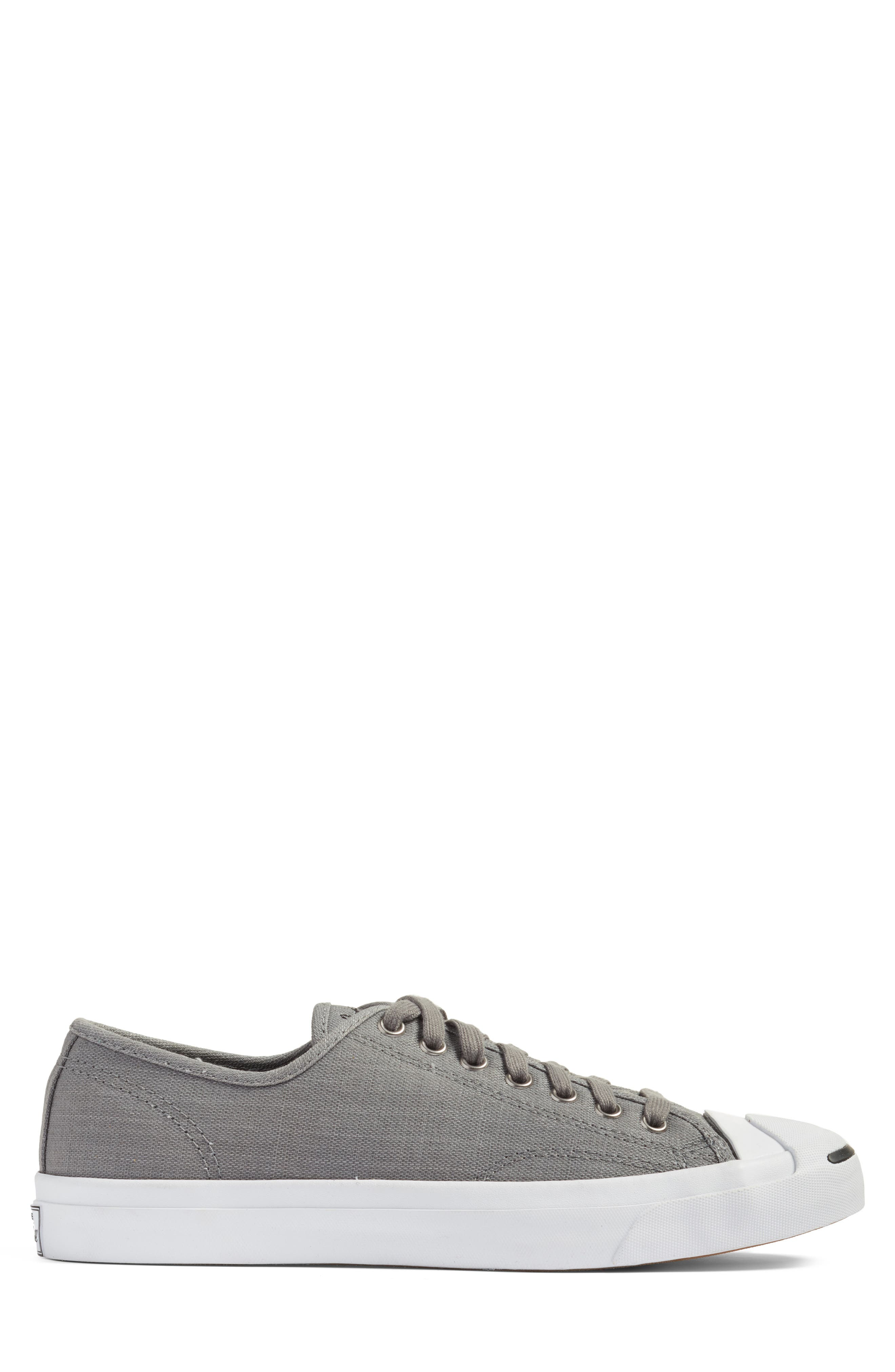 Jack Purcell Ox Sneaker,                             Alternate thumbnail 3, color,                             Mason Grey/ White